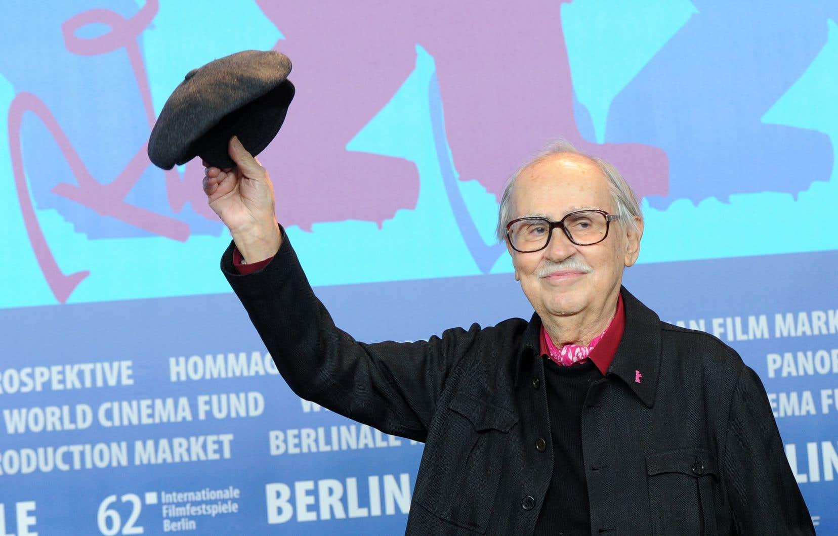 Le cinéaste italien Vittorio Taviani, à Berlin en 2012