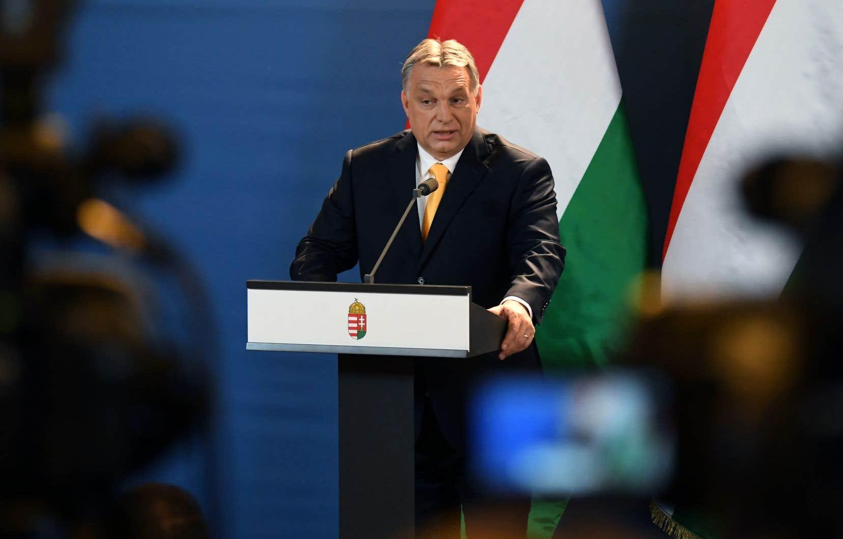Le premier ministre souverainiste hongrois, Viktor Orban, le 10 avril dernier