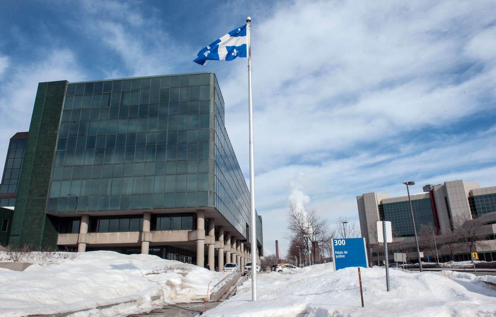 Le procès d'Alexandre Bissonnette a débuté au palais de justice de Québec le 26 mars dernier.