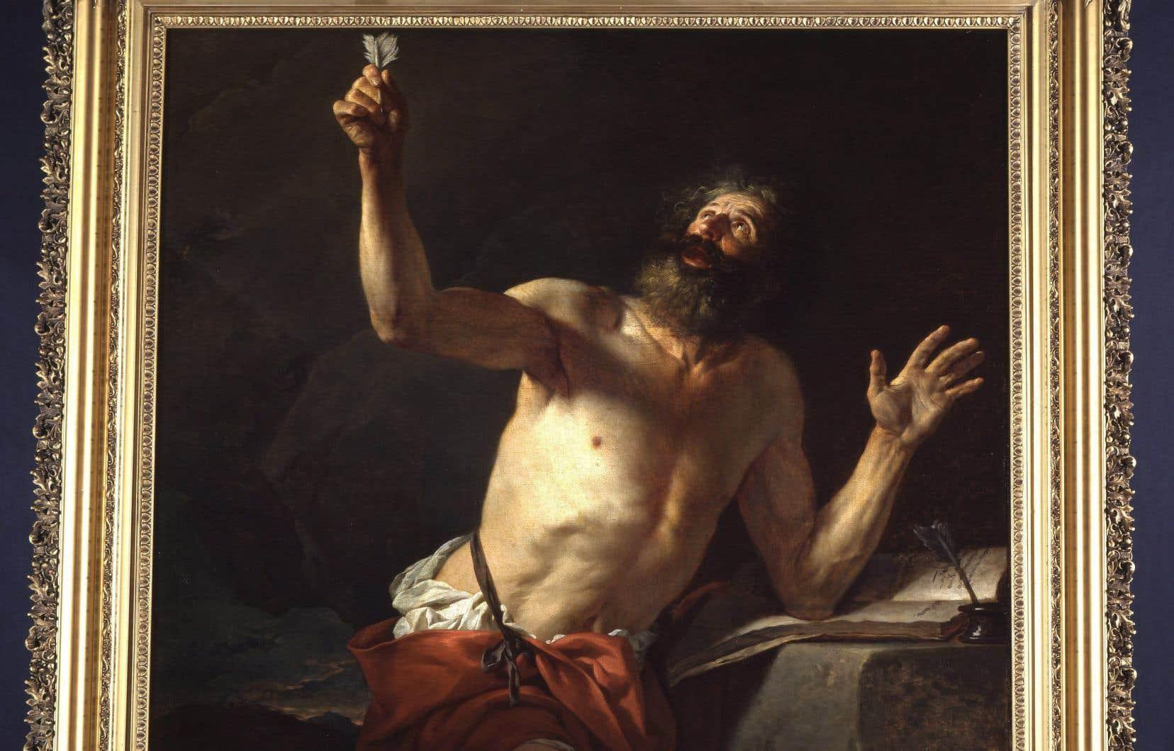 La tentative d'acquisition de l'oeuvre «Saint Jérôme» par le Musée des beaux-arts du Canada soulève une tempête.