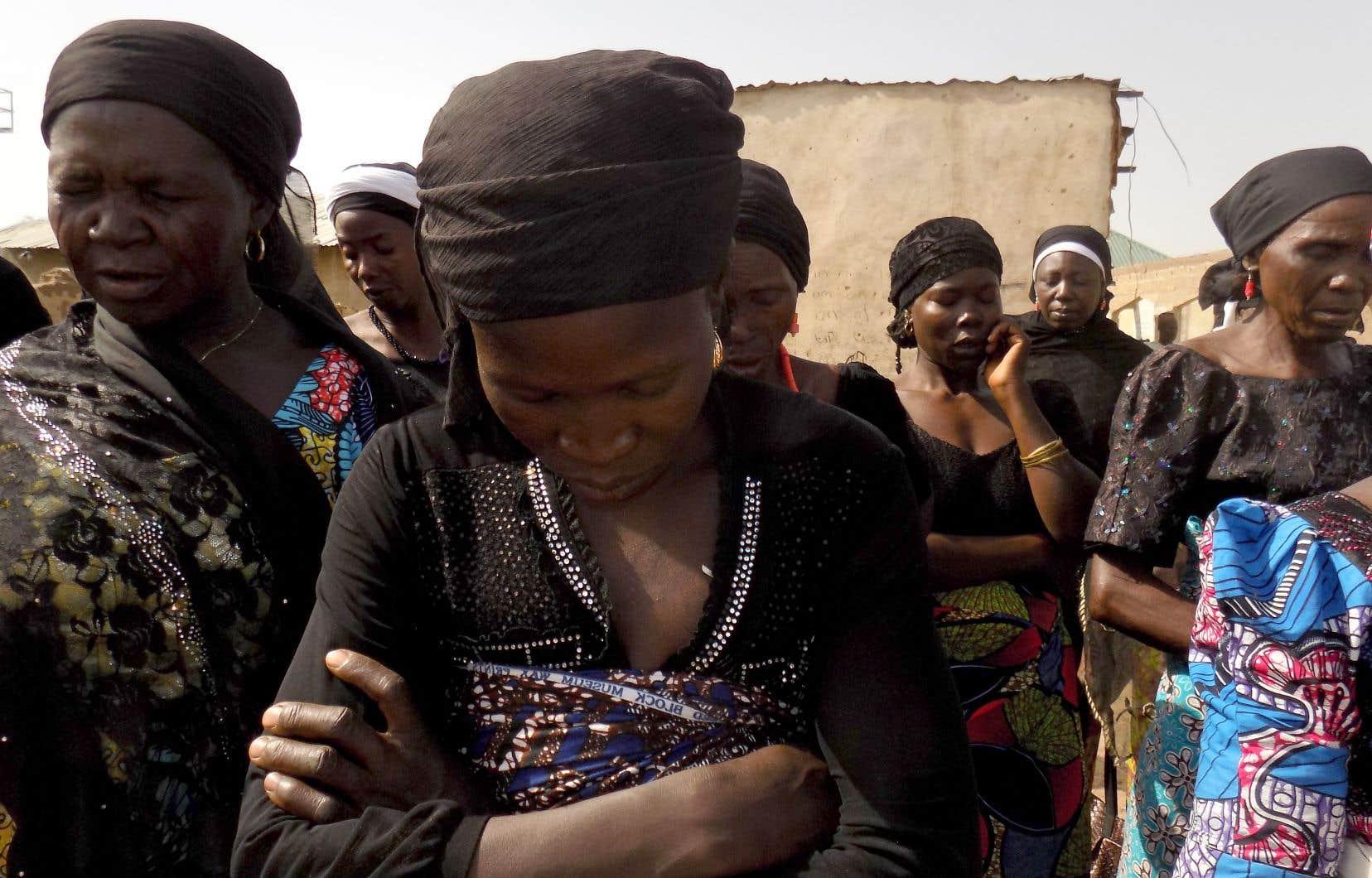 Les parents des otages et des milliers de personnes se sont rassemblés samedi dernier à Chibok à l'occasion du quatrième anniversaire de leur enlèvement.