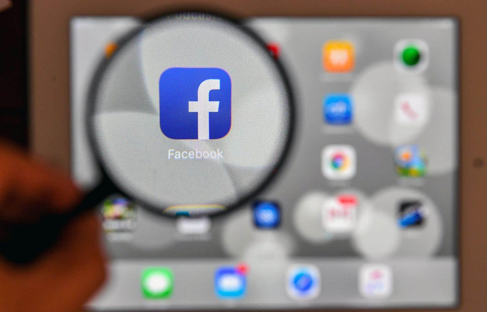 Facebook affirme que 23millions de Canadiens et deux milliards de Terriens utilisent ses services sur une base mensuelle.