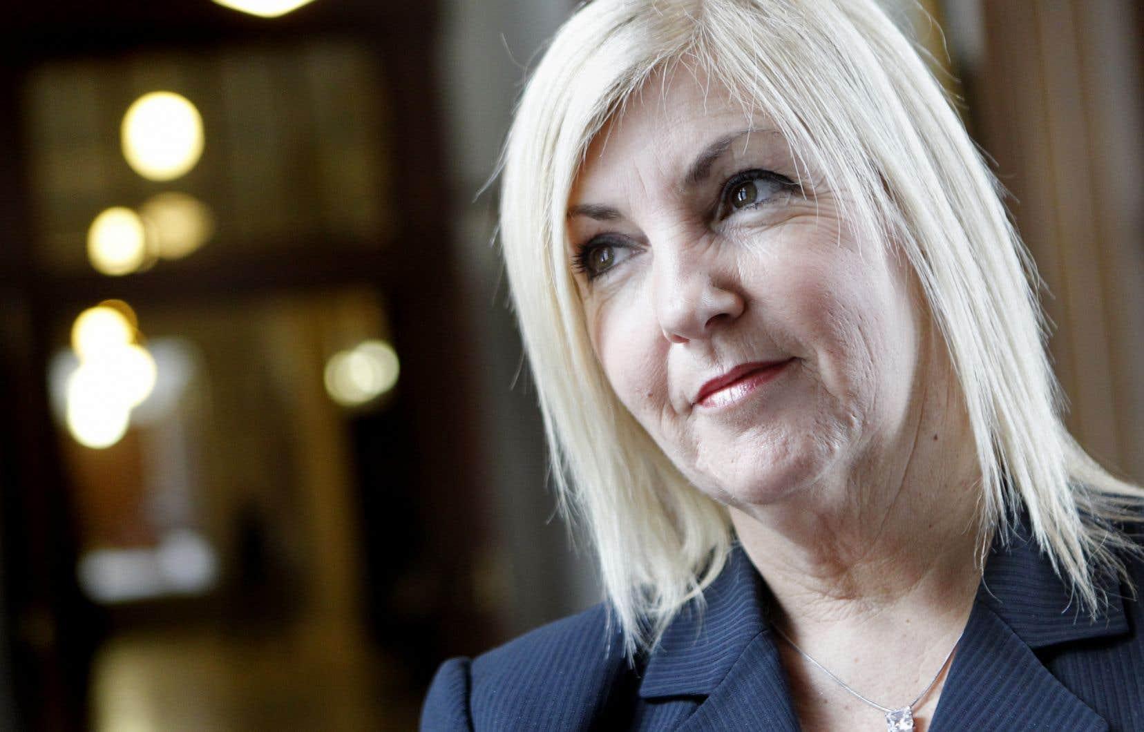 La députée Maryse Gaudreault préside le groupe de travail chargé d'étudier les questions de harcèlement à l'Assemblée nationale.