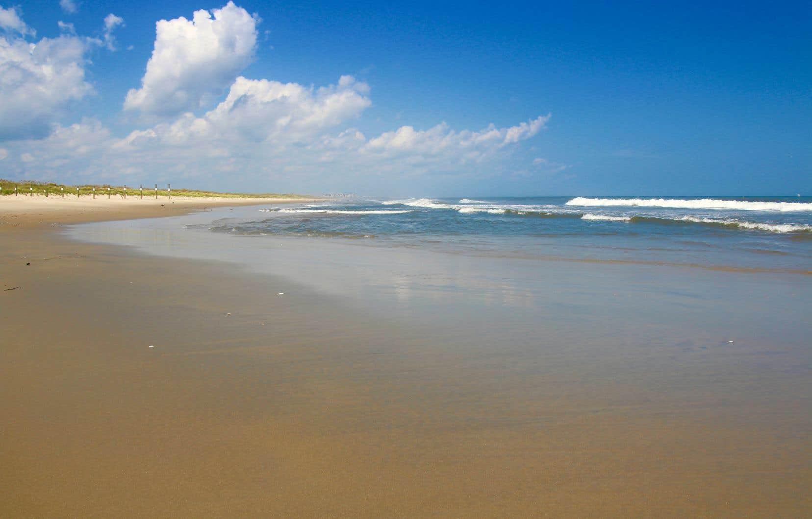 Au Back Bay National Wildlife Refuge, on a la plage à soi.