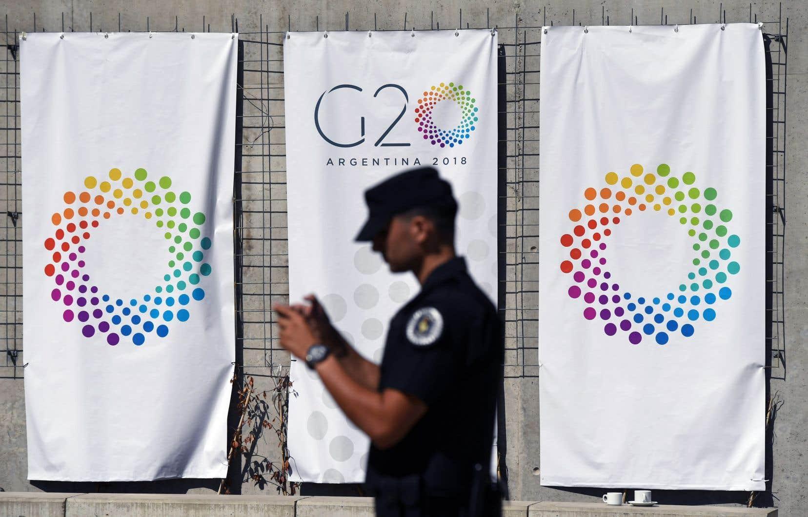 Les ministres des Finances des pays membres du G20 se sont réunis à Buenos Aires, en Argentine, les 19 et 20 mars.