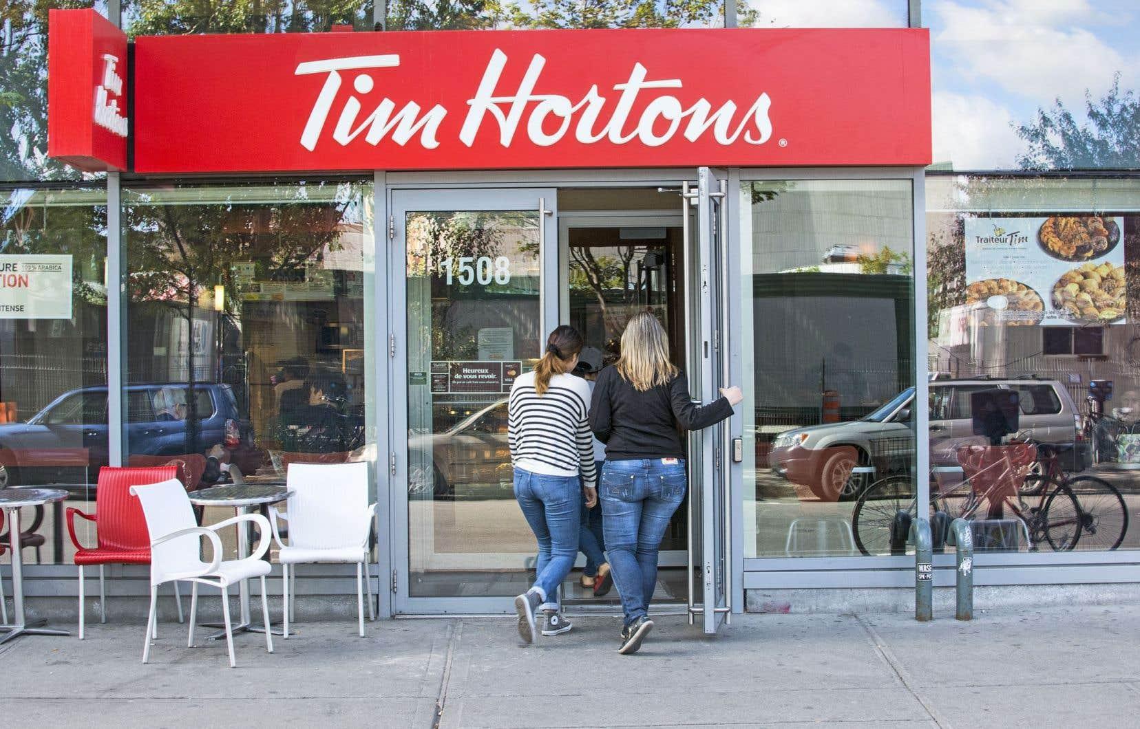 Tim Hortons a indiqué qu'elle accueillait favorablement toute conversation avec les franchisés de la chaîne de restauration.