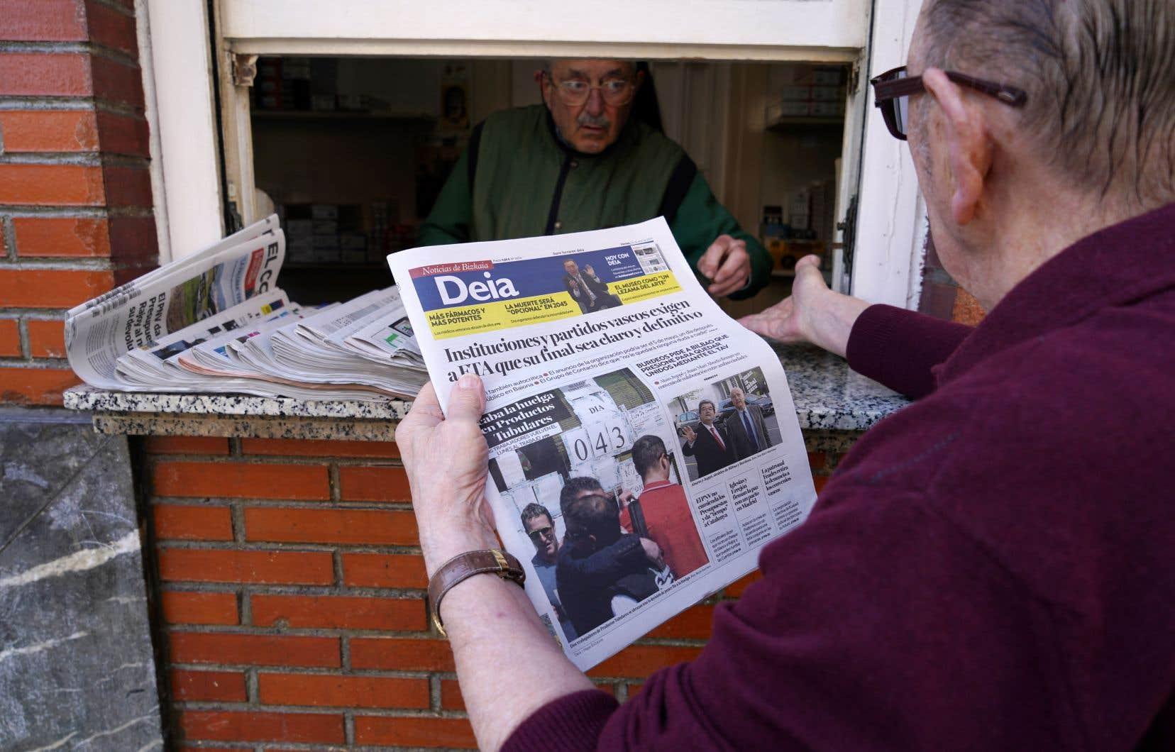La polémique a enflé en Espagne après la déclaration de l'organisation basque ETA.