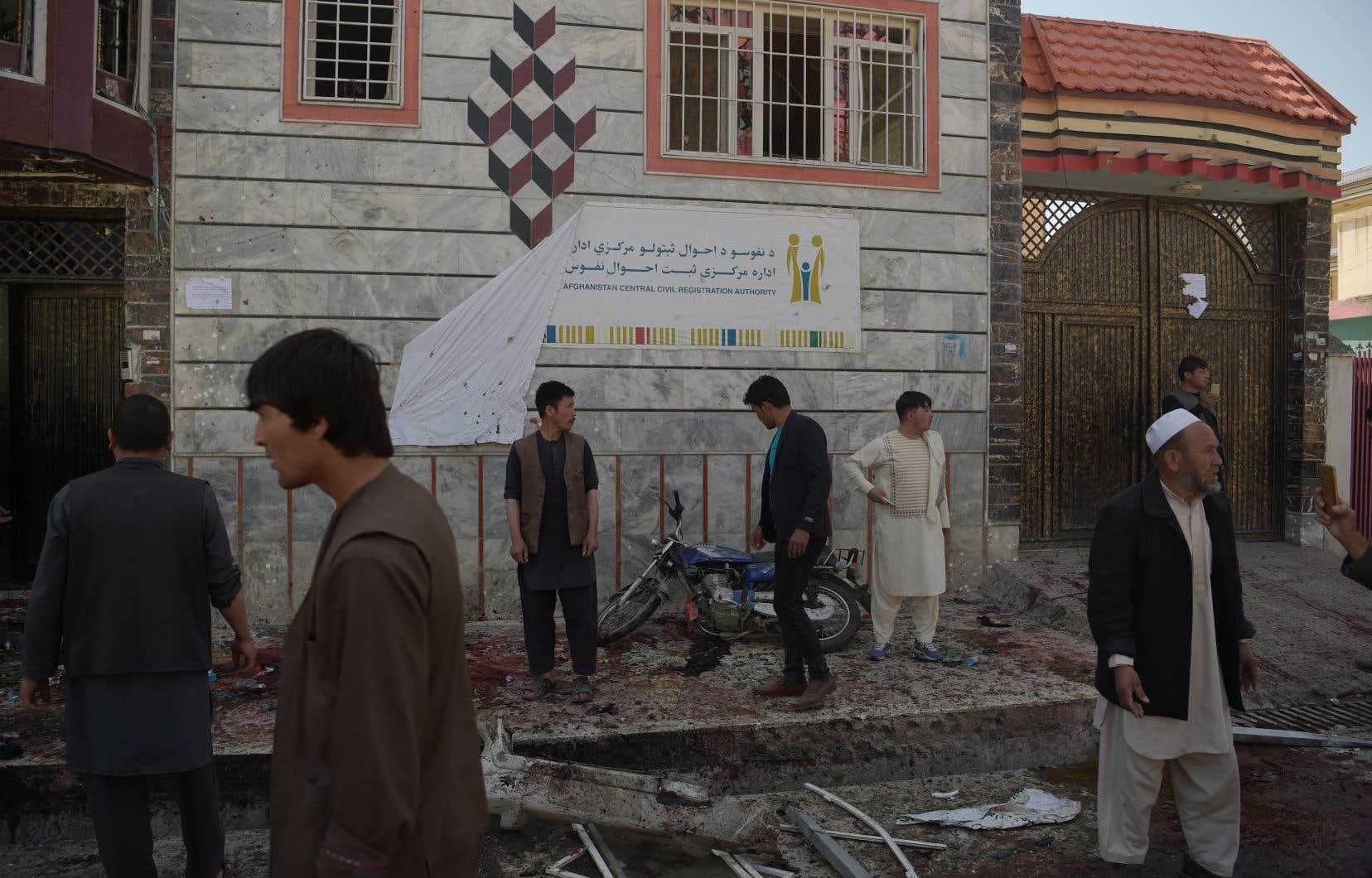 L'attentat s'est produit dans le quartier majoritairement chiite de l'ouest de Kaboul, Dasht-e-Barchi.