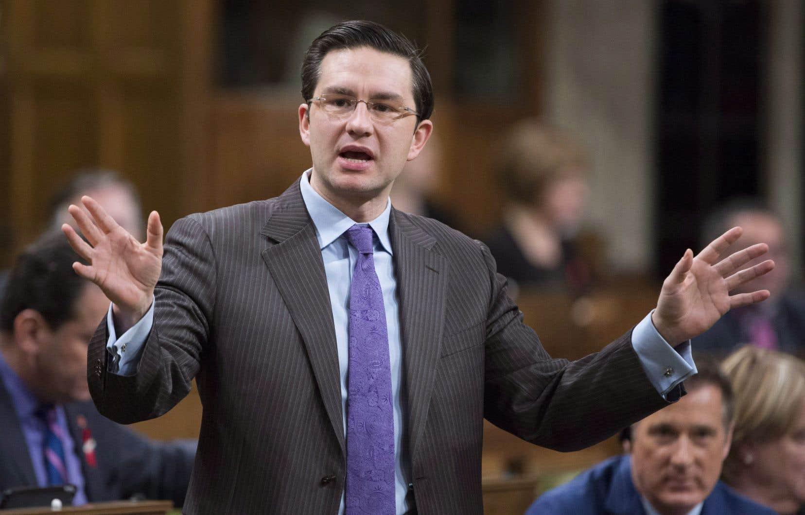 Le porte-parole conservateur en matière de finance, Pierre Poilievre