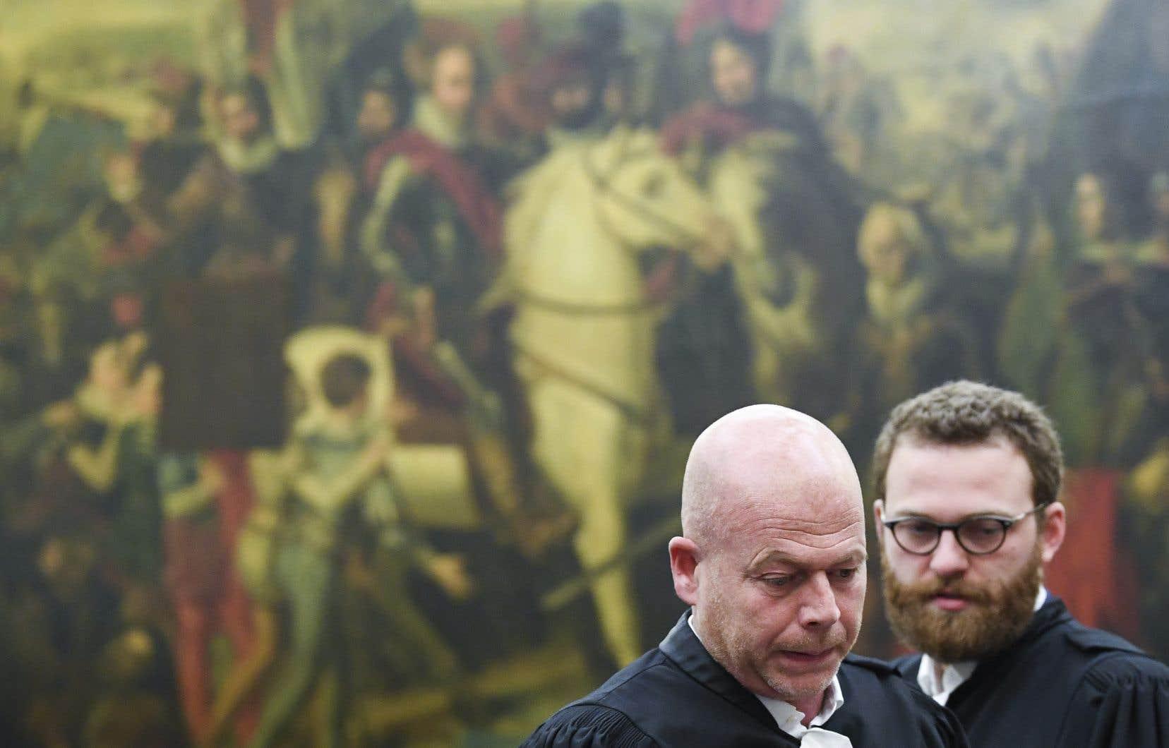 Les avocats belges de Salah Abdeslam, Sven Mary et Romain Delcoigne