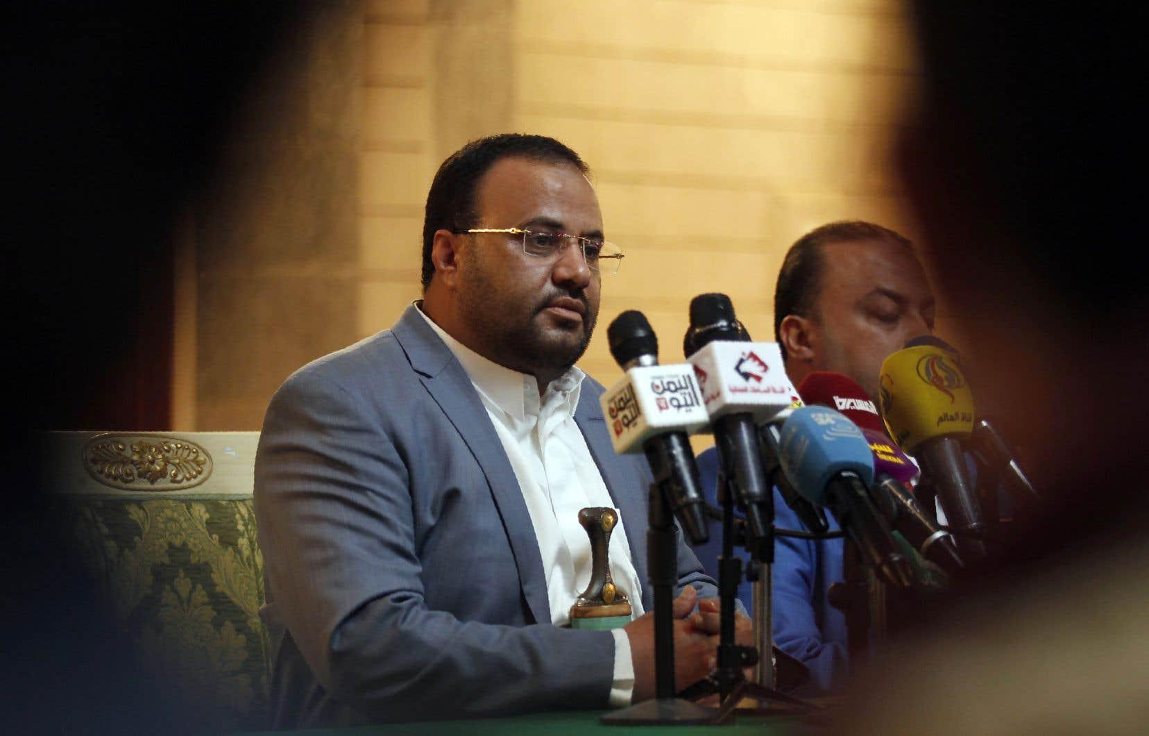 Saleh al-Sammad, chef du Conseil politique suprême de la rébellion, en 2017