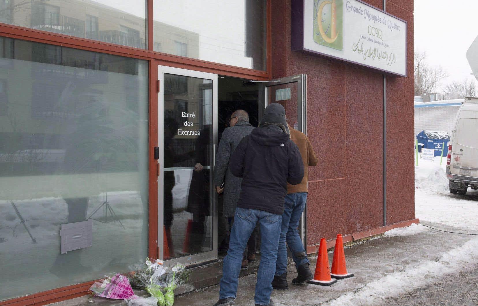 La grande mosquée de Québec a été le site d'une fusillade meurtrière qui a causé la mort de six fidèles, le 29 janvier 2017.