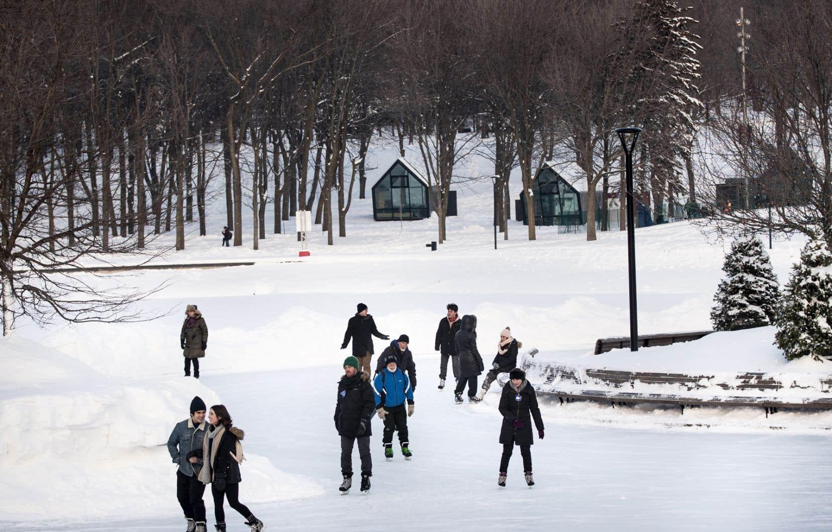 À titre d'exemple, le chercheuse mentionne la disparition de la patinoire naturelle du mont Royal où les citadins allaient patiner depuis des décennies.