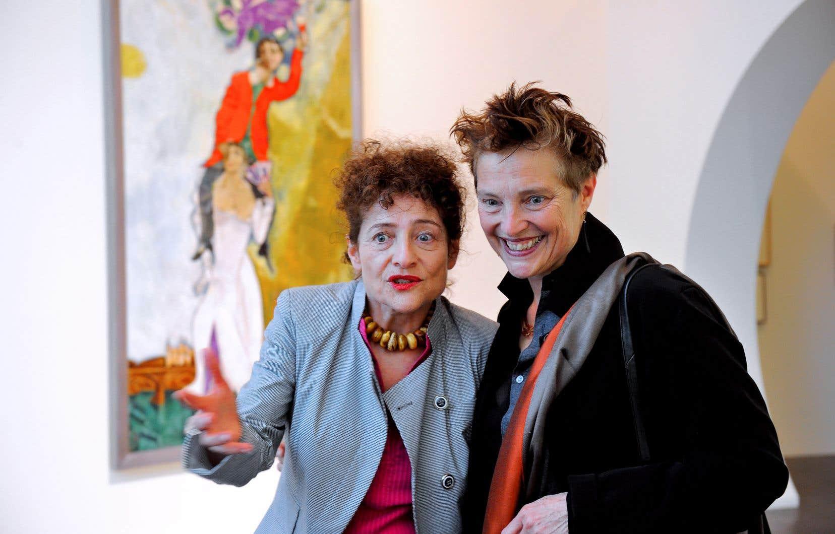 Les sœurs Meret et Bella Meyer, petites-filles du peintre Marc Chagall, regrettent vivement la décision du Musée des beaux-arts du Canada.