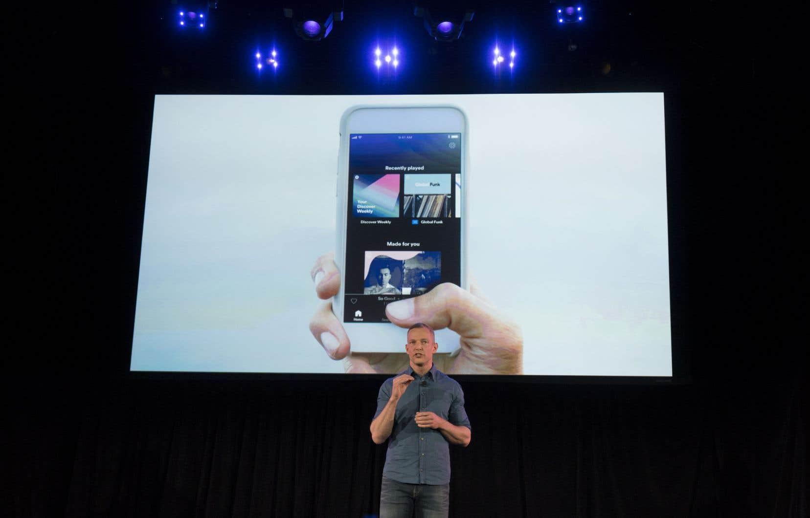Spotify a annoncé mardi une version améliorée de son offre gratuite pour téléphones intelligent.
