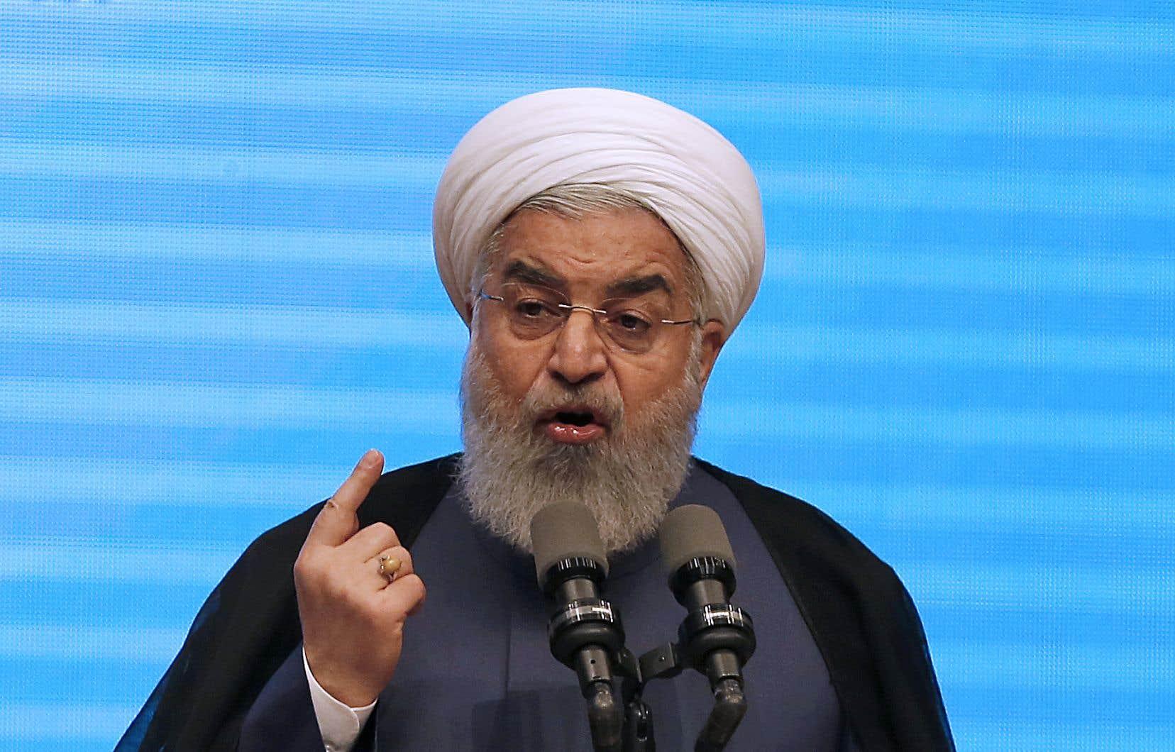 Le président iranien Hassan Rohani a catégoriquement rejeté mercredi tout nouvel accord sur le nucléaire.