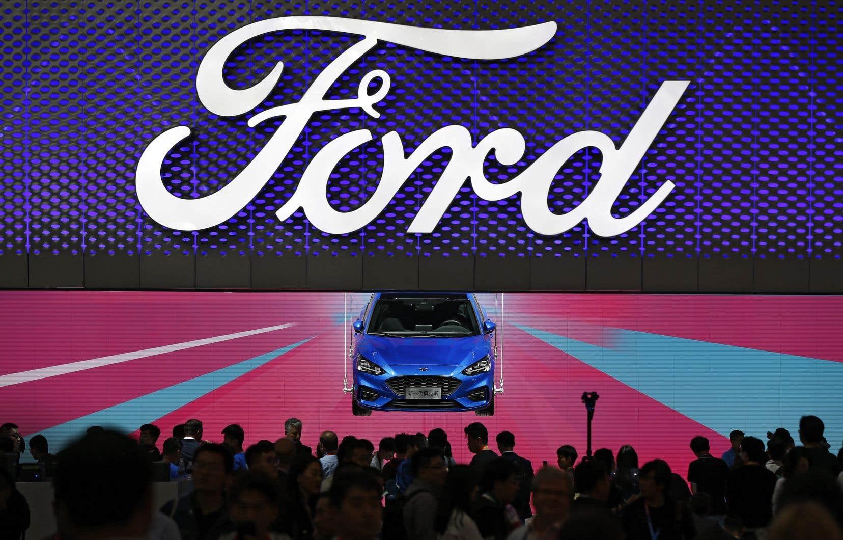 Parmi les berlines, seuls la Mustang et la Focus continueront d'être produites.