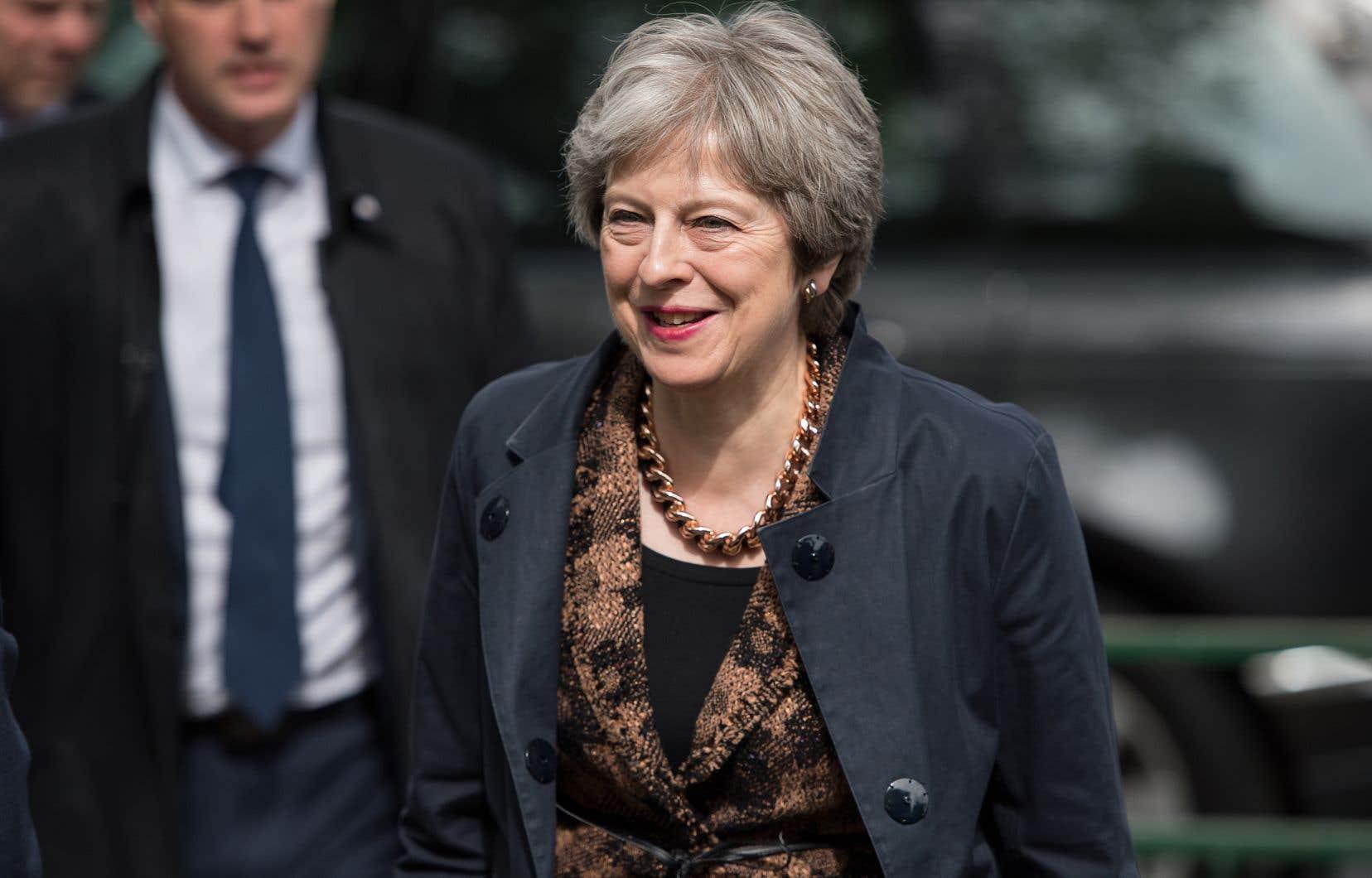 Lapremière ministre britannique, Theresa May