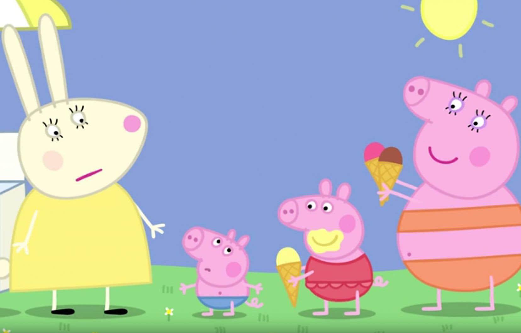 Le Dessin Anime Britannique Peppa Pig Censure En Chine Le Devoir