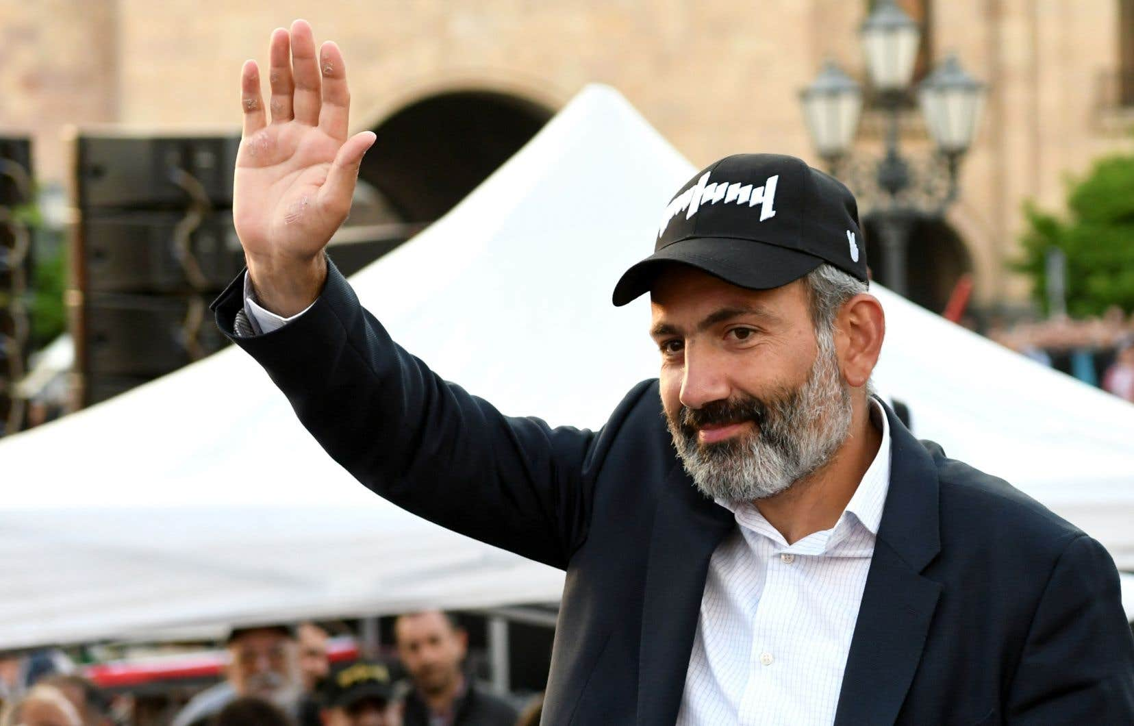 Nikol Pachinian, le 30 avril dernier