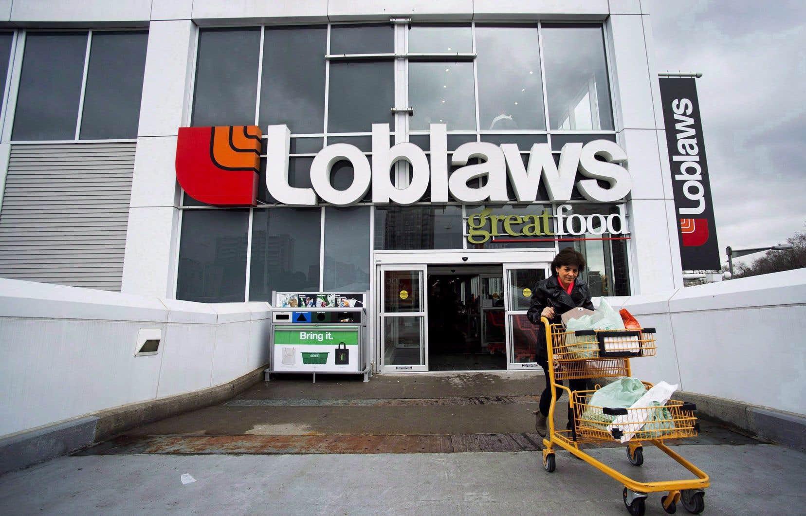 Les revenus trimestriels de Loblaw ont toutefois fléchi de 0,4% à 10,37milliards.
