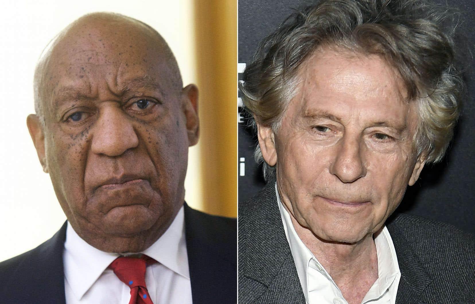 L'acteur Bill Cosby et le réalisateur Roman Polanski