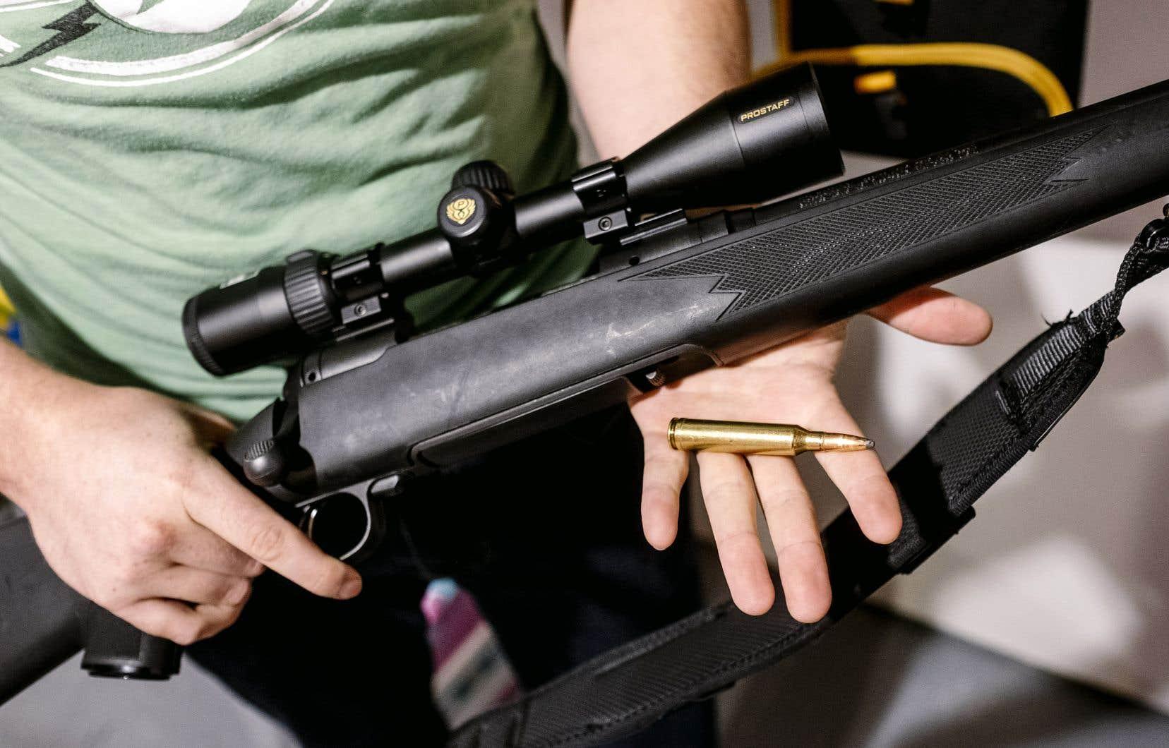 Lundi, «Le Devoir» révélait que la GRC (ou la Sûreté du Québec pour le Québec) ne vérifie pas si un demandeur de permis d'armes à feu a éprouvé dans le passé des problèmes de santé mentale.