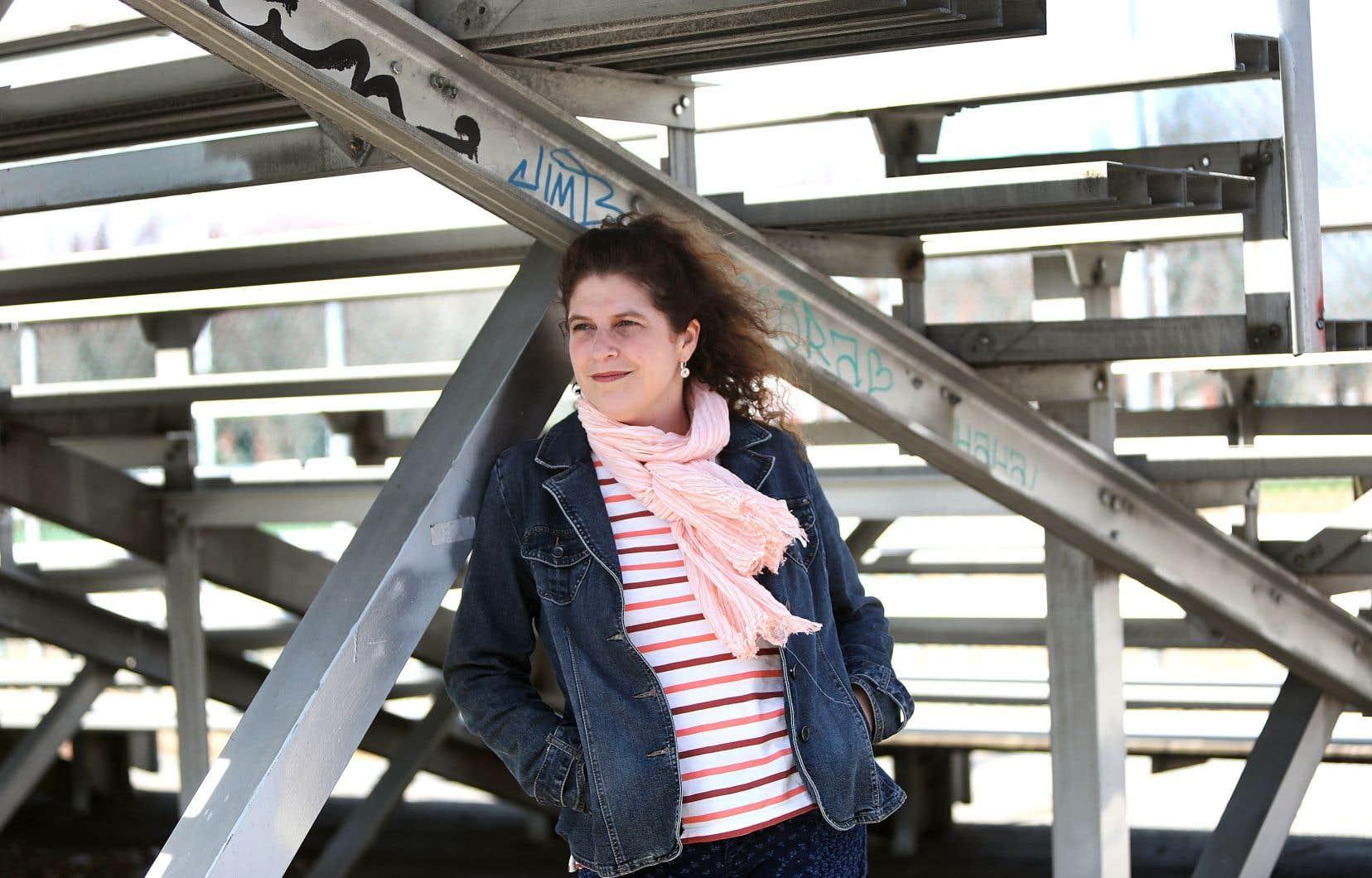 Nathalie Babin-Gagnon, auteure de «L'erreur de la marqueuse»