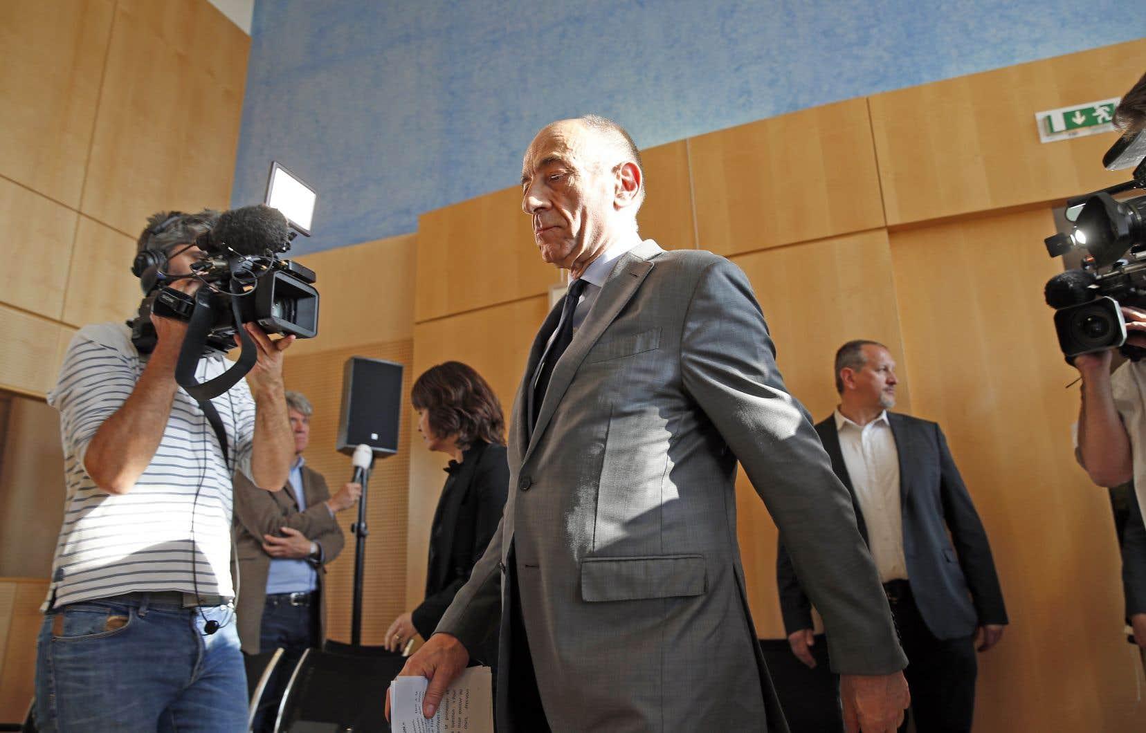 «Ce vote est la traduction d'un malaise, il appelle une transformation profonde», a déclaré Jean-Marc Janaillac.