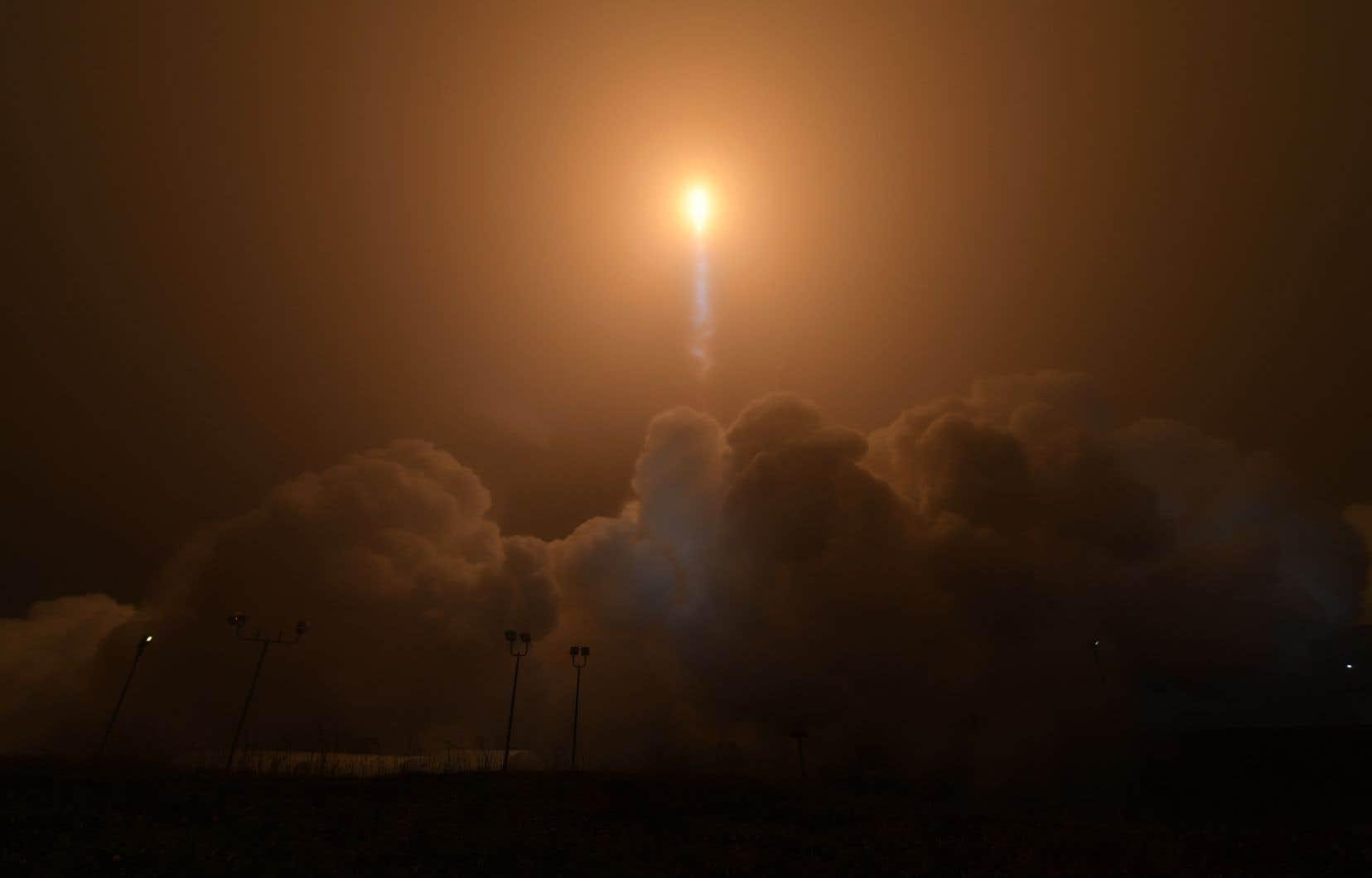 C'est la première mission de la Nasa vers Mars depuis 2012.