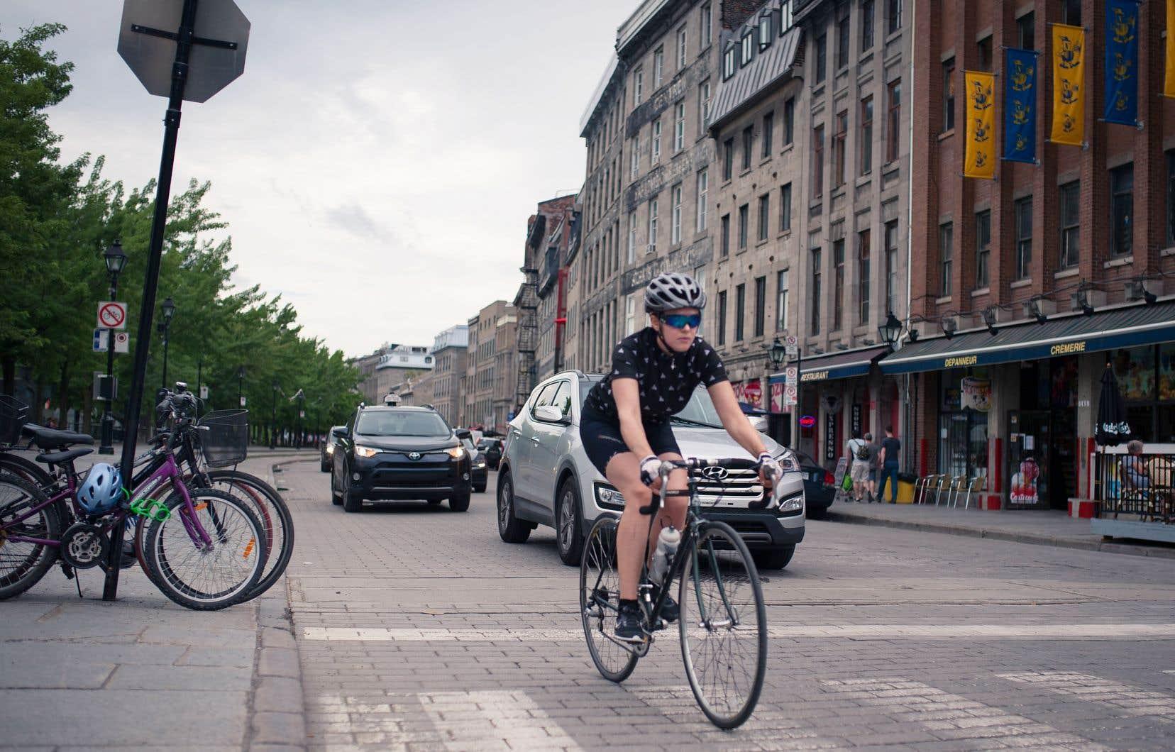 La coalition a présenté 23 propositions qui ratissent large, notamment en ce qui a trait à la promotion du transport à vélo.
