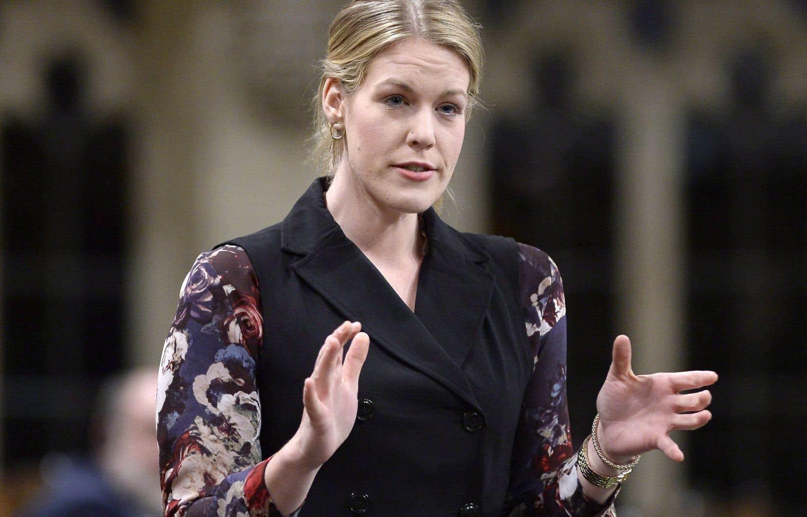 La député conservatriceRachael Harder