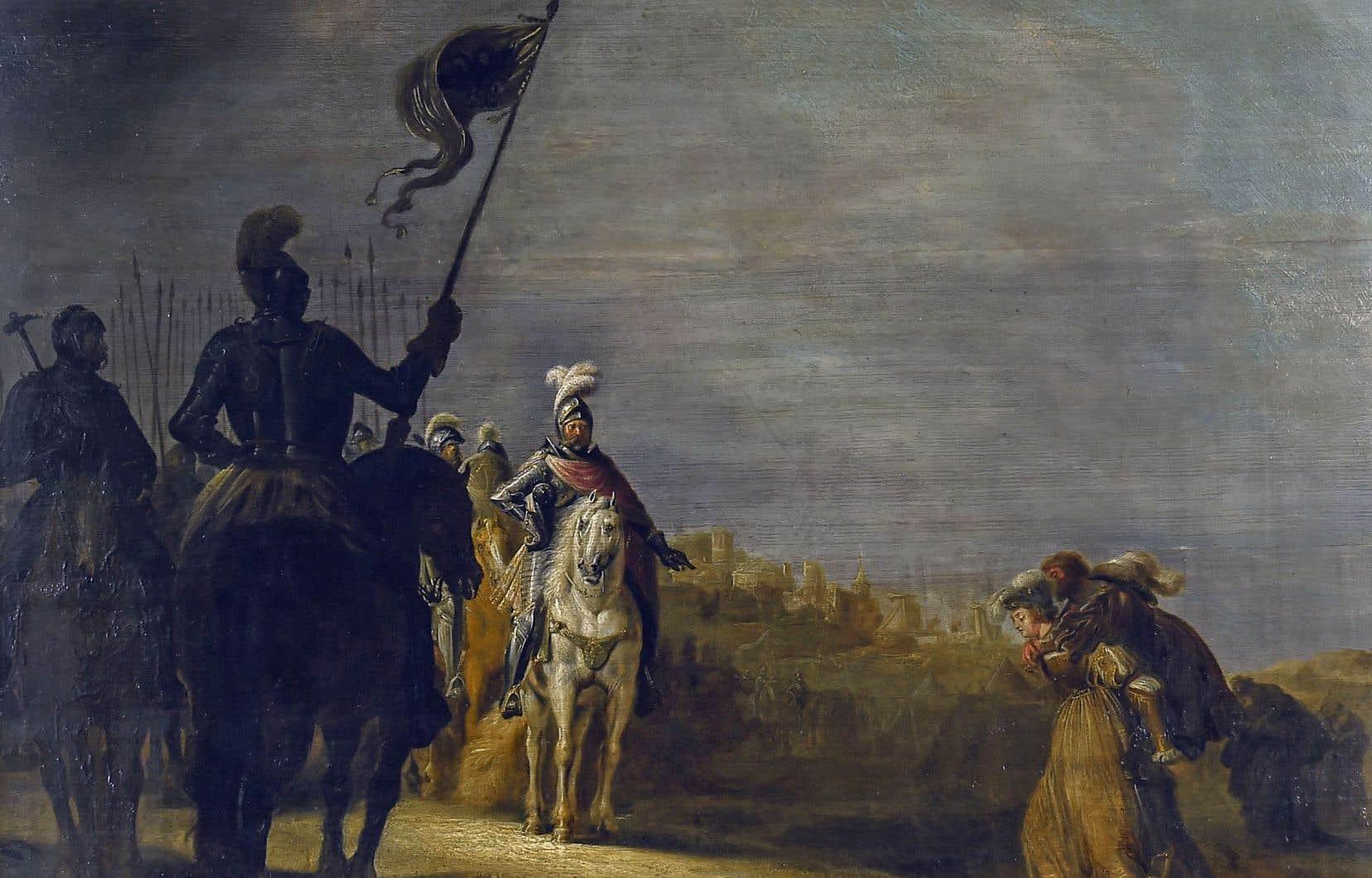 Gerrit Claesz Bleker, «Les fidèles épouses de Weinsberg», 1624