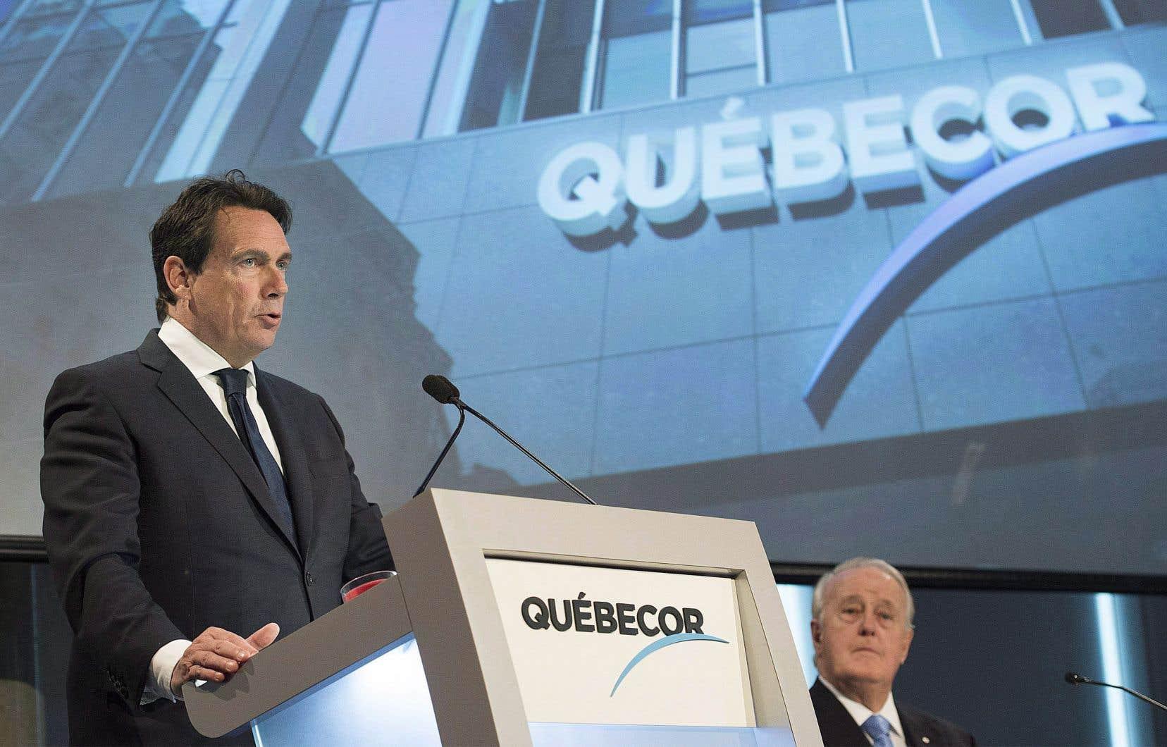 Si le dernier rachat est possible, a dit M.Péladeau, c'est grâce à la position financière de son entreprise, notamment en ce qui concerne les liquidités disponibles.