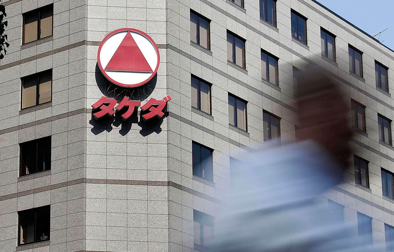 Le siège social de Takeda, à Tokyo. L'entreprise, comme plusieurs autres au Japon, cherche à prendre de l'expansion à l'étranger, en réponse au ralentissement de la croissance nationale.
