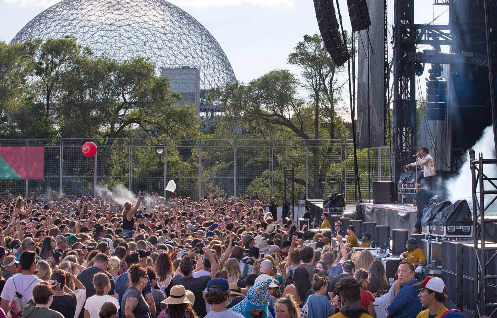 Les résidents de Saint-Lambert se plaignent depuis des années du bruit émanant des spectacles présentés au parc Jean-Drapeau.