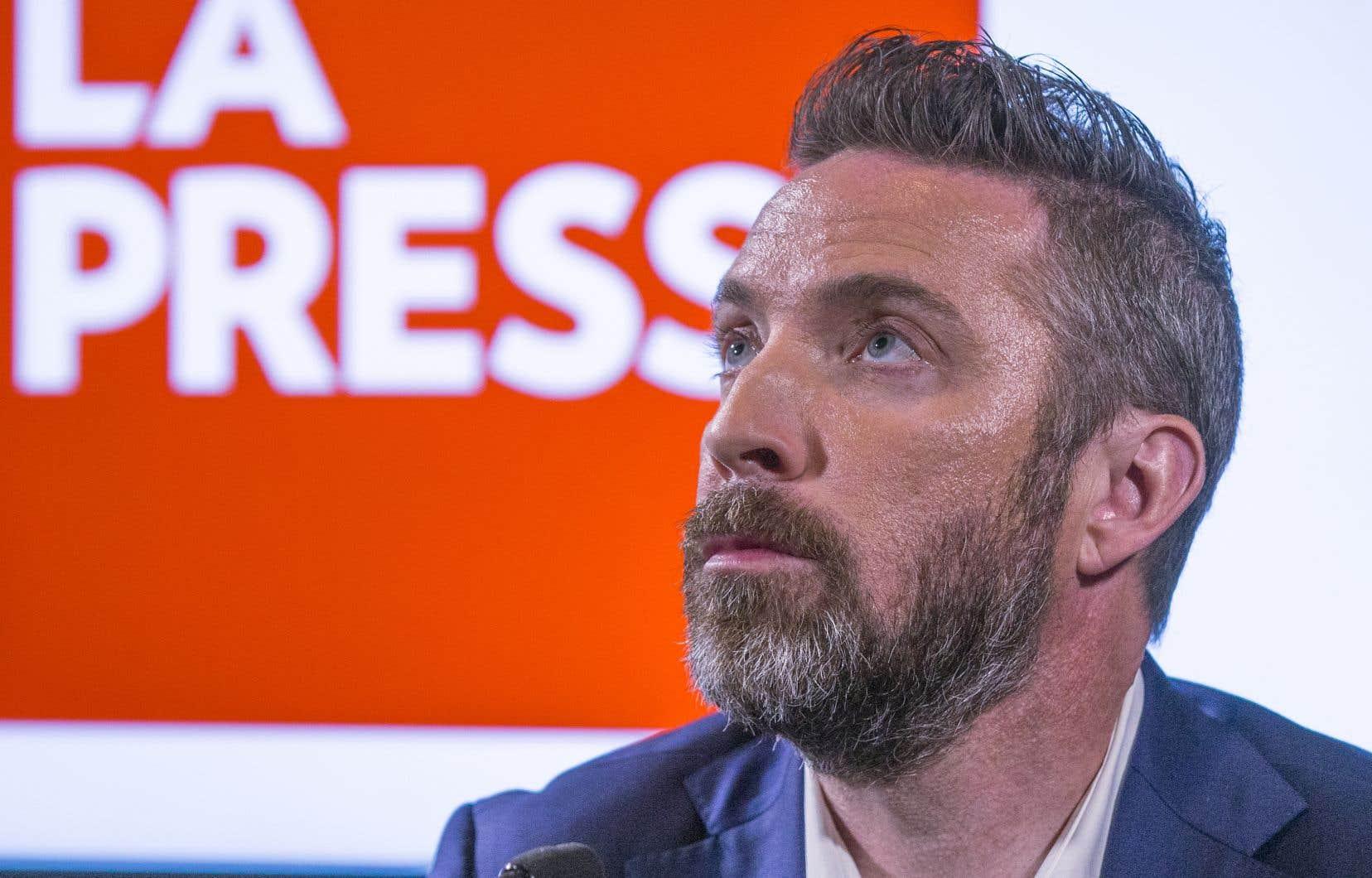 Le président de «La Presse», Guy Crevier, a annoncé mardi la transformation du média en organisme à but non lucratif.