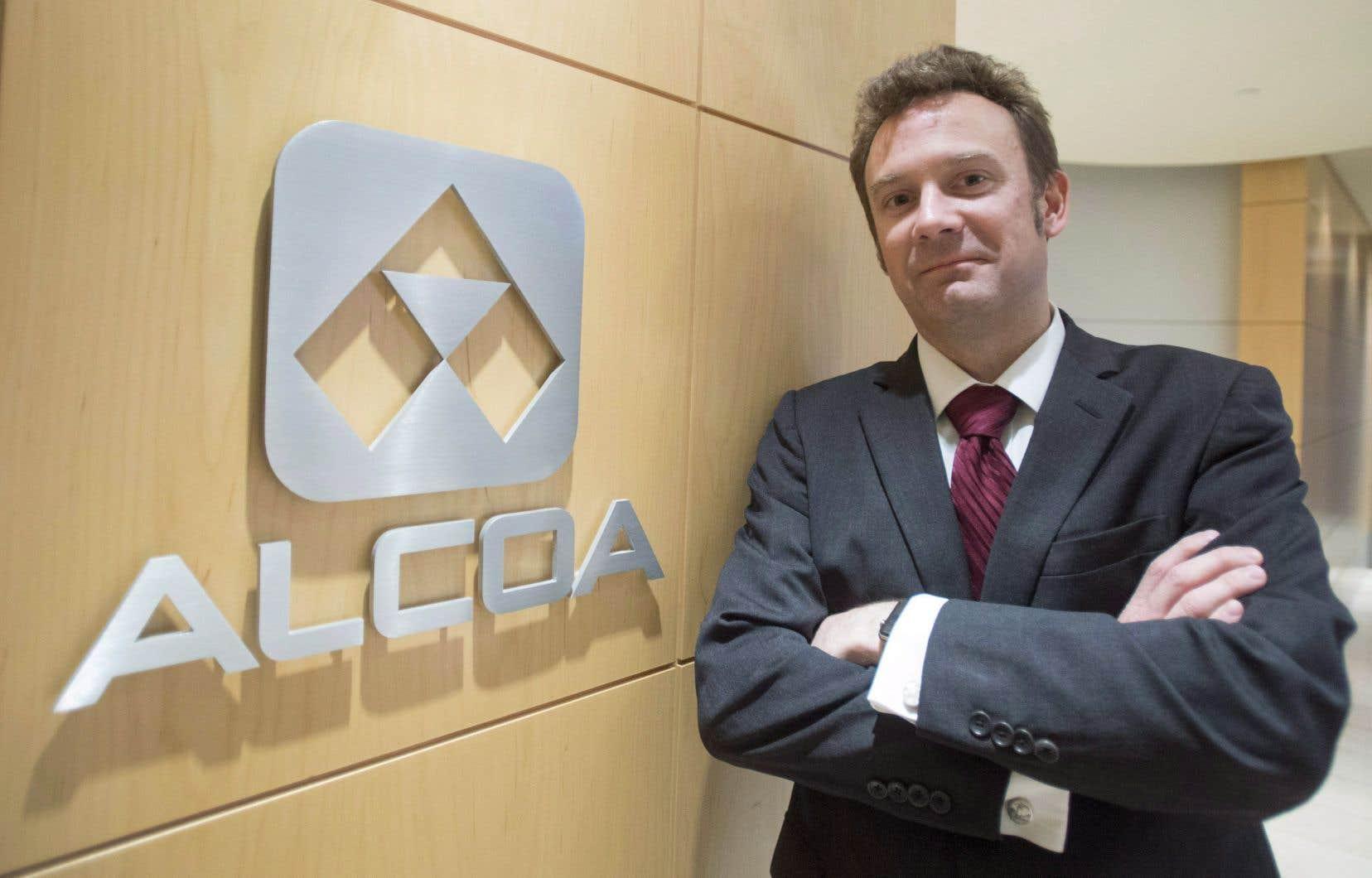 Le président et chef de la direction d'Alcoa, Roy Harvey.