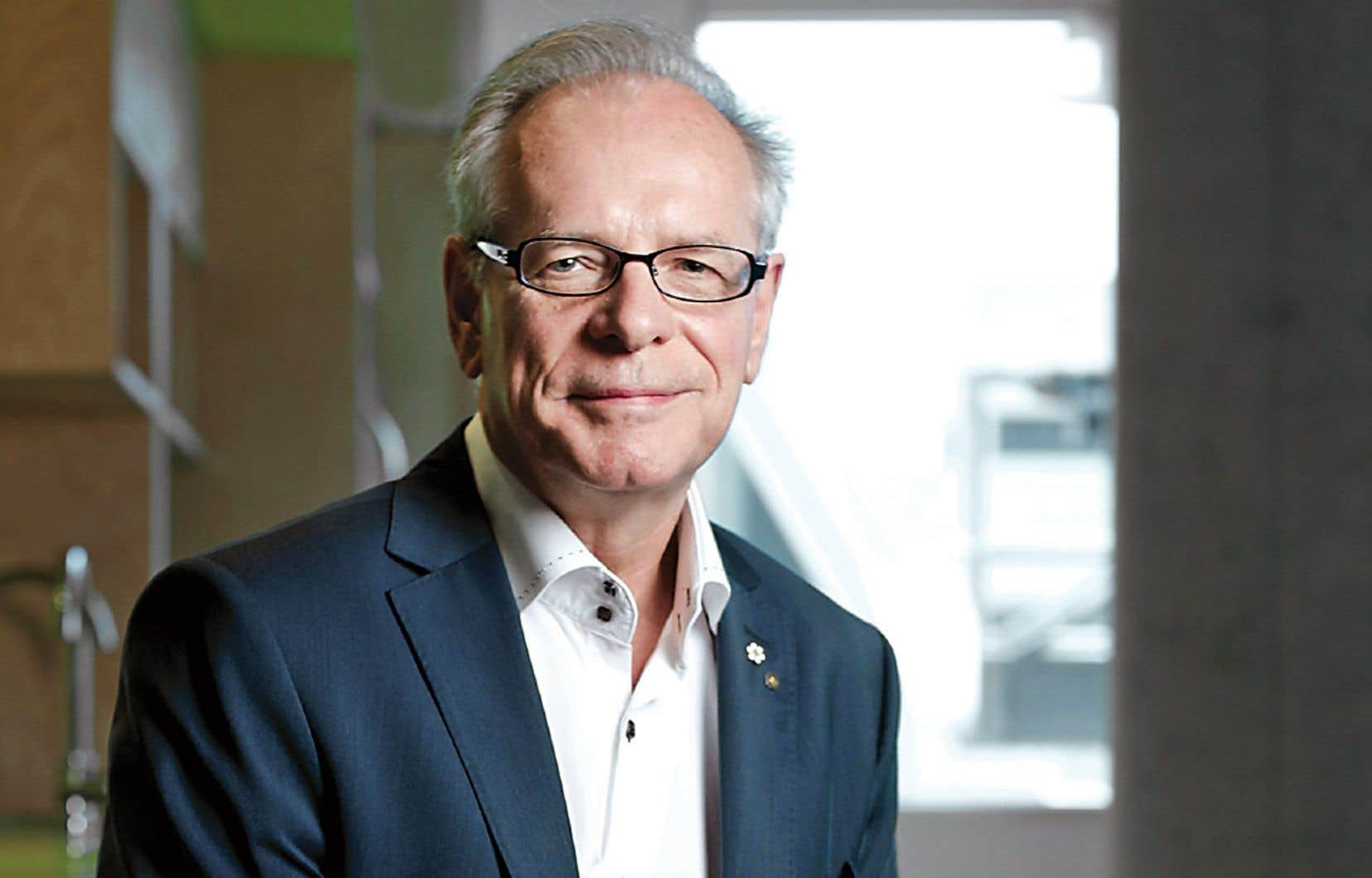 Le directeur et chef de la direction du Conseil des arts du Canada (CAC), Simon Brault