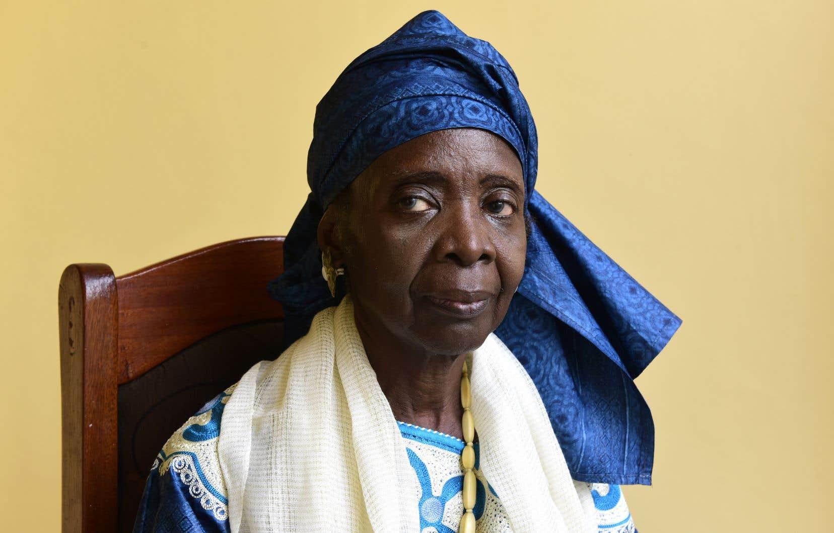 L'écrivaine sénégalaise Aminata Sow Fall
