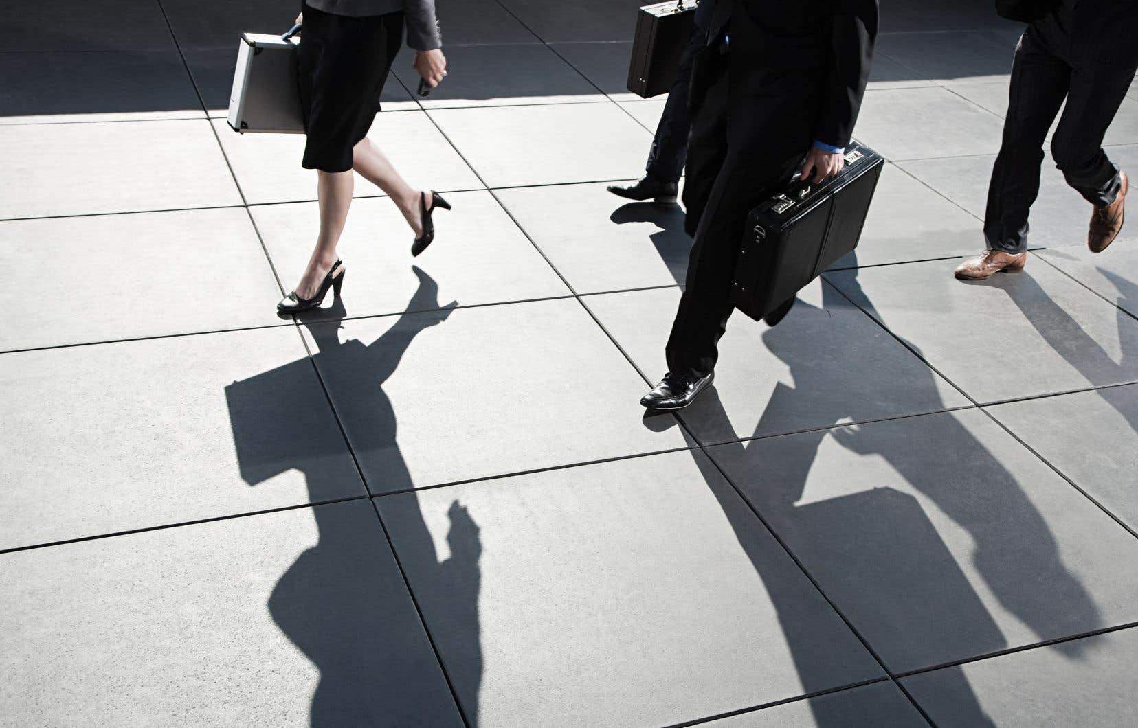 Seulement neuf entreprises se retrouvent dans la zone d'au moins 40% de femmes au sein des conseils d'administration, une seule affichant la parité avec l'entreprise Saputo.