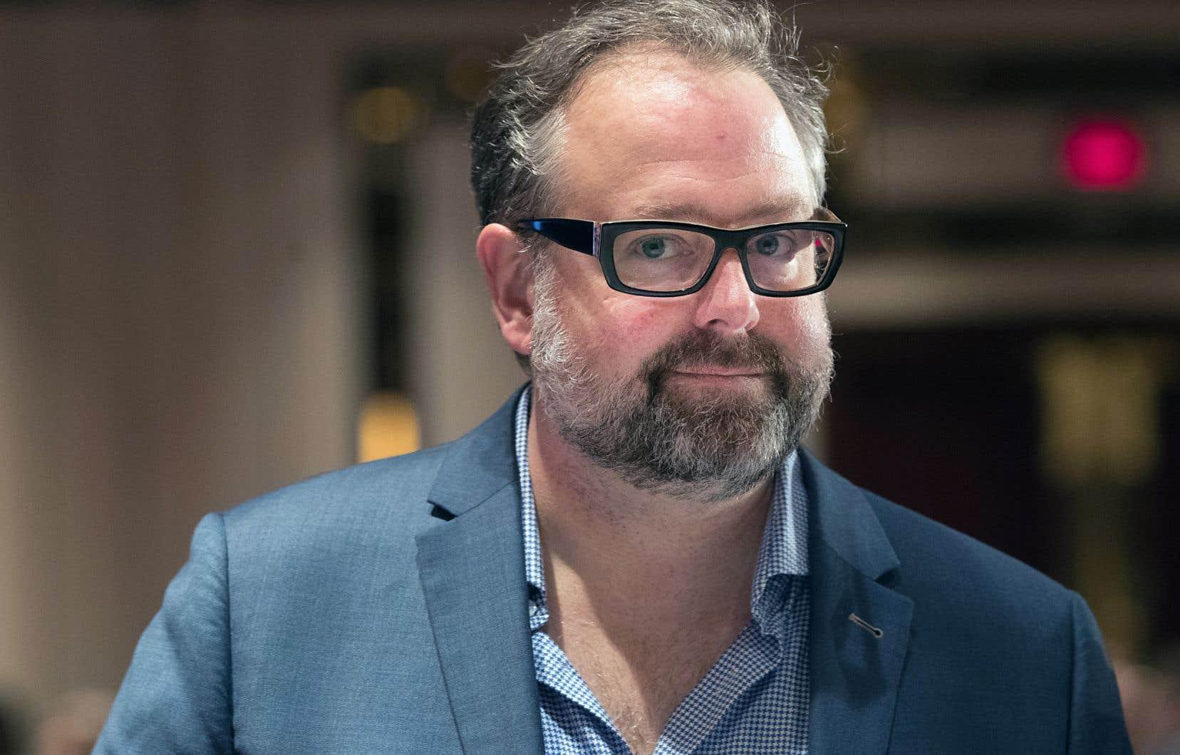 Alexandre Taillefer a annoncé jeudi qu'il se lançait dans l'arène politique à titre de président de la campagne du Parti libéral du Québec.