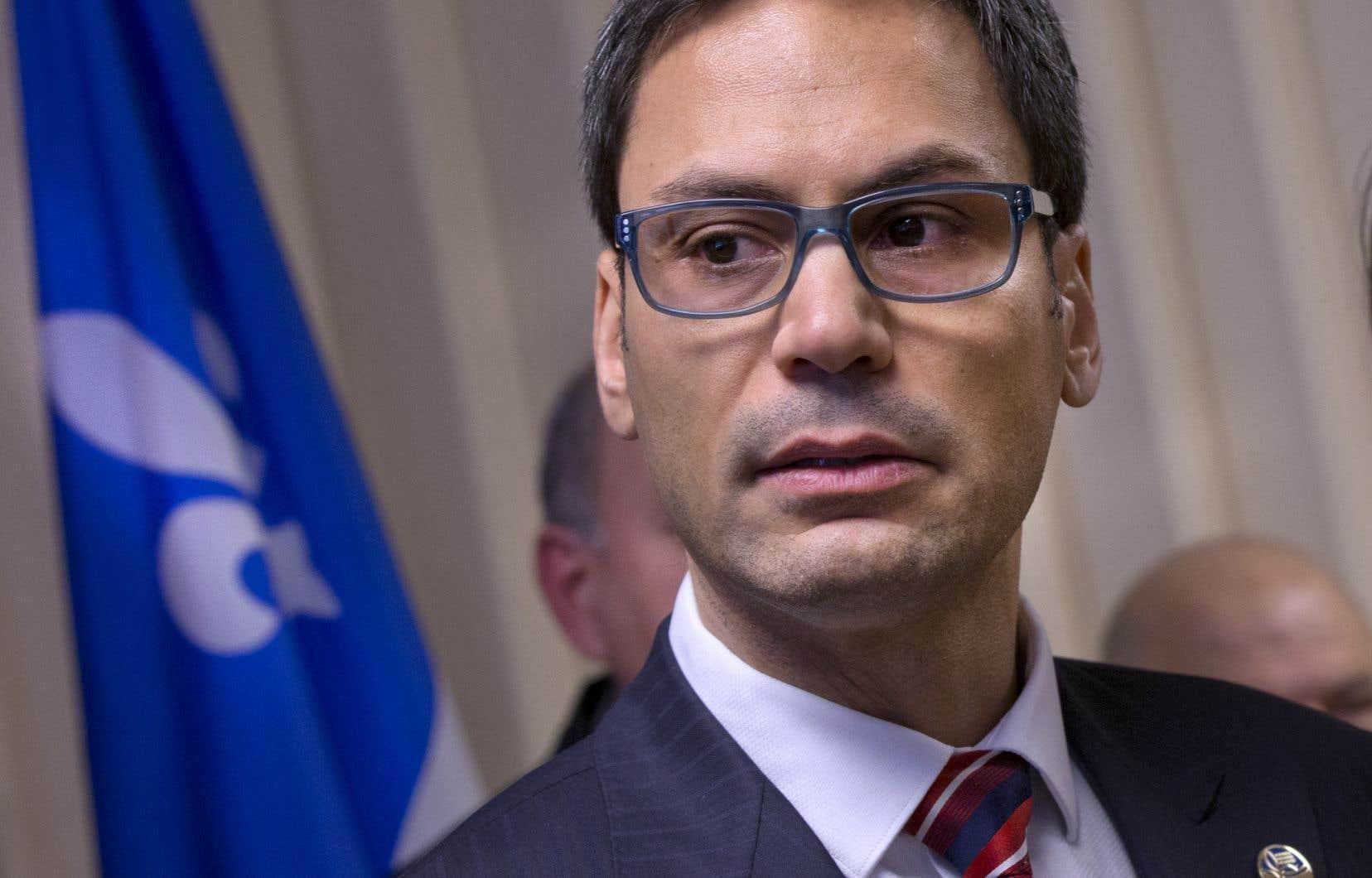Le député Gerry Sklavounos siège à titre d'indépendant depuis le mois d'octobre 2016.