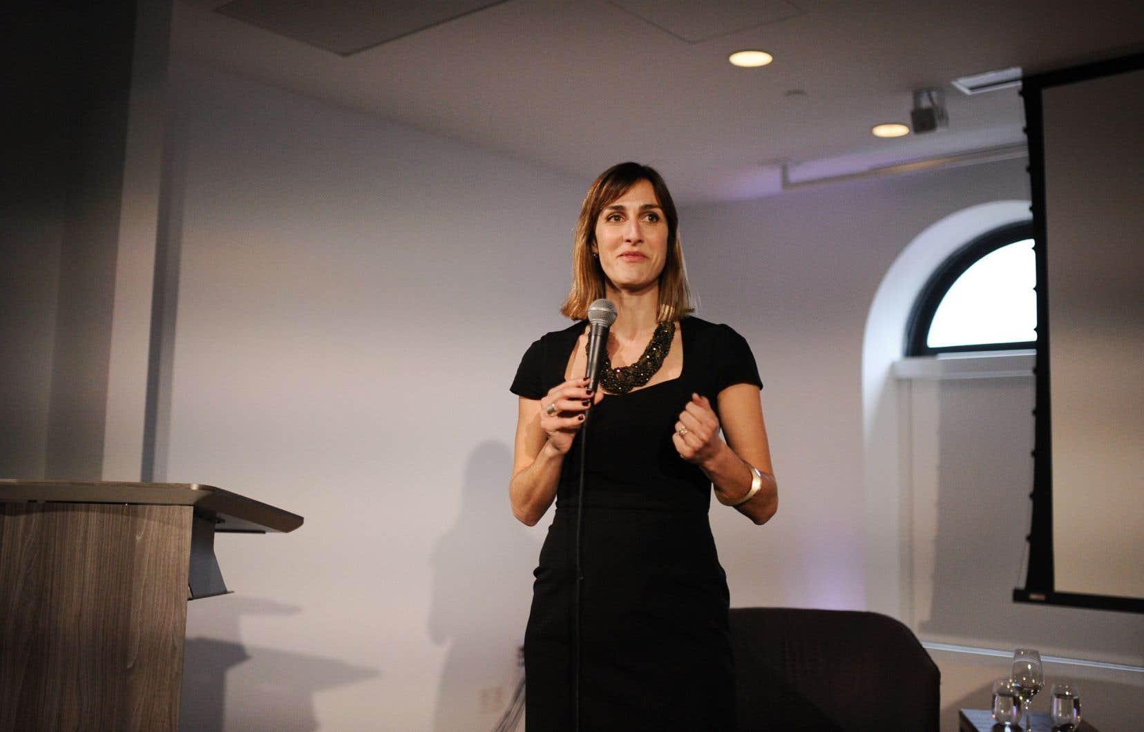 Caroline Locher, secrétaire générale duConseil de presse du Québec (CPQ)