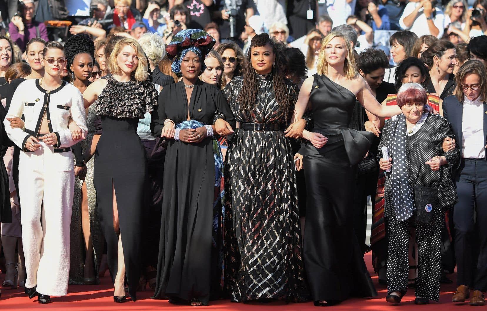 Le Festival avait envoyé un premier signal fort en direction des femmes, en choisissant un jury majoritairement féminin.
