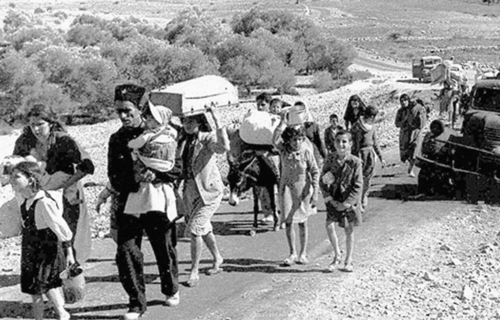 <p>À Gaza, le souvenir de la Nakhba est d'autant plus prégnant que 70% de la population est constituée de réfugiés, souligne l'auteur.</p>