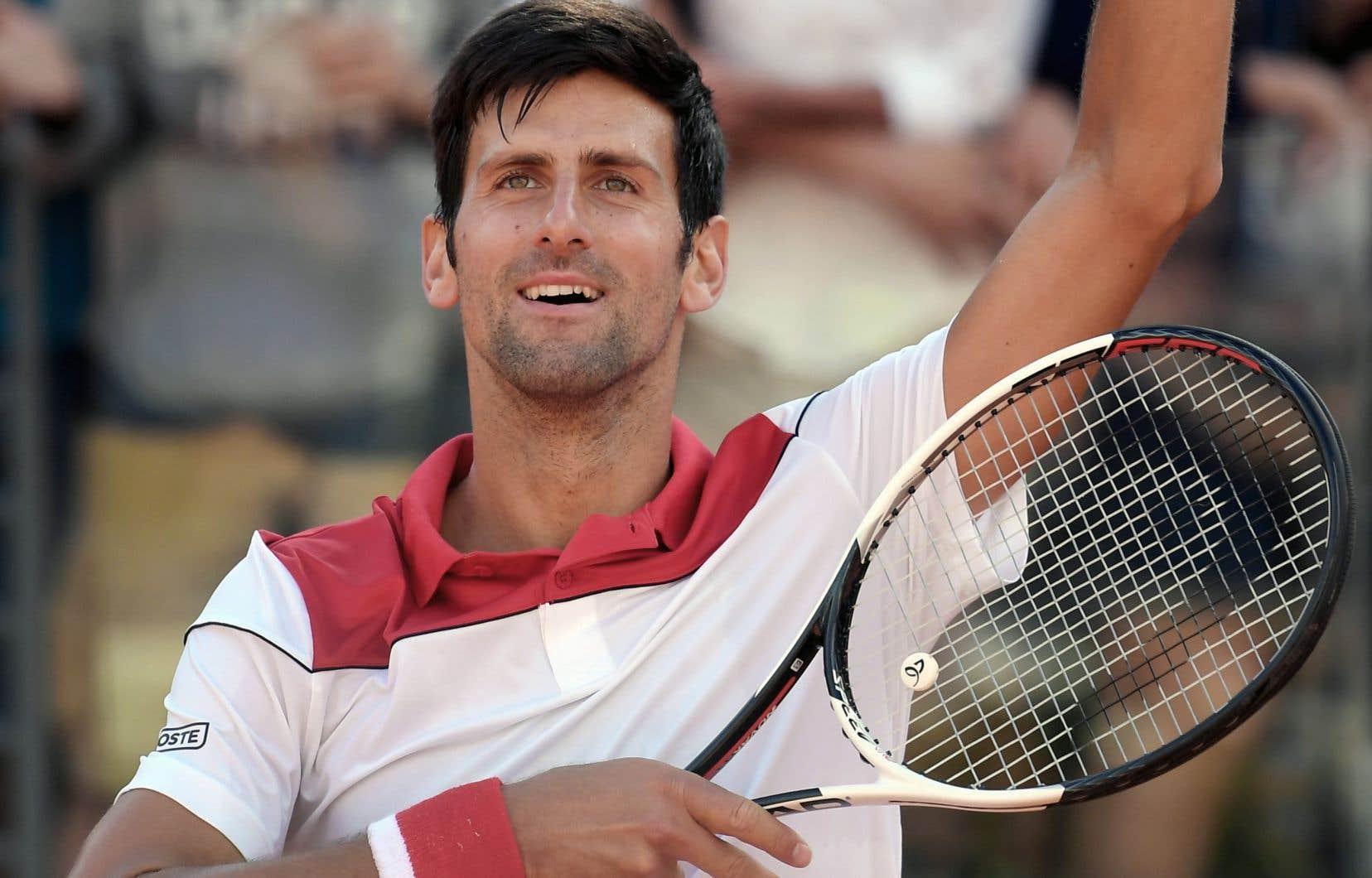 Dans le classement publié lundi, Djokovic a glissé au 18e rang, son plus bas classement depuis 2006.