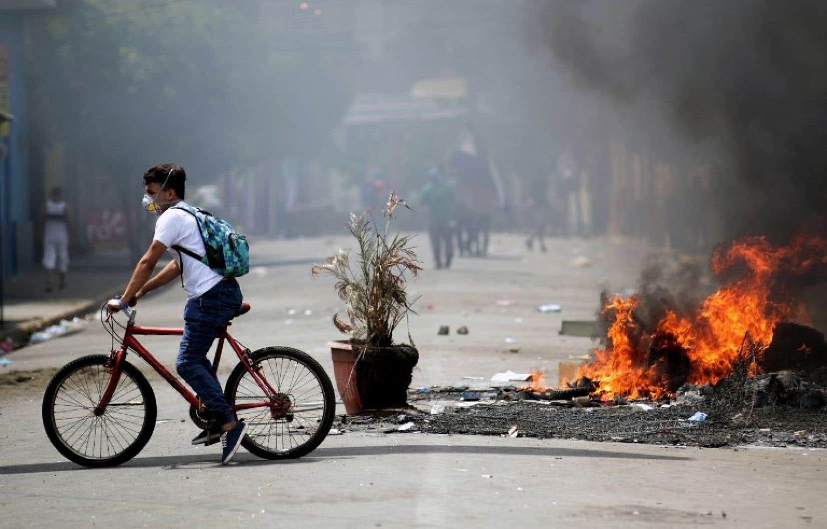 Les nouvelles manifestations antigouvernementales du week-end ont été durement réprimées.