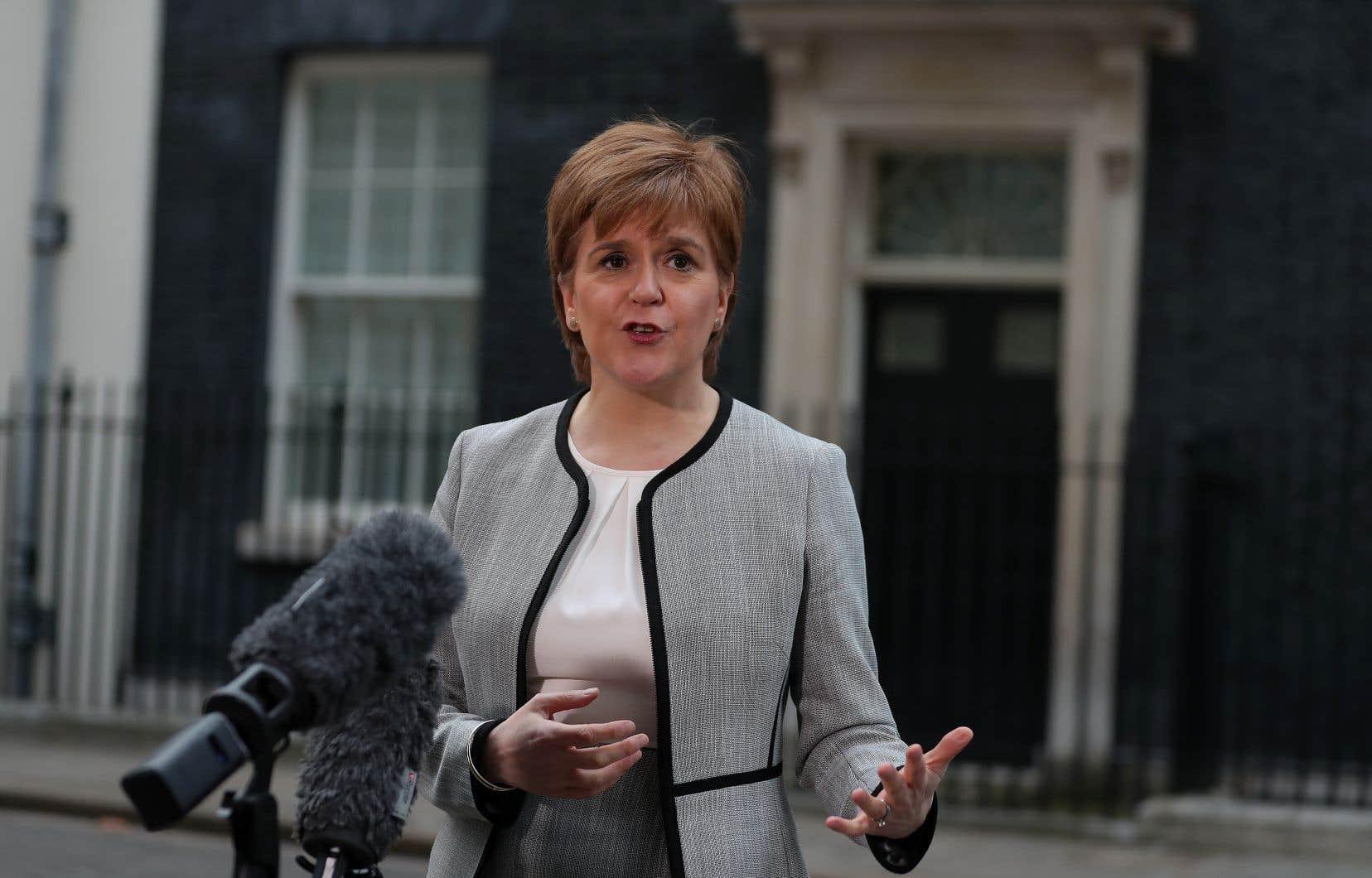 La première ministre indépendantiste de l'Écosse, Nicola Sturgeon