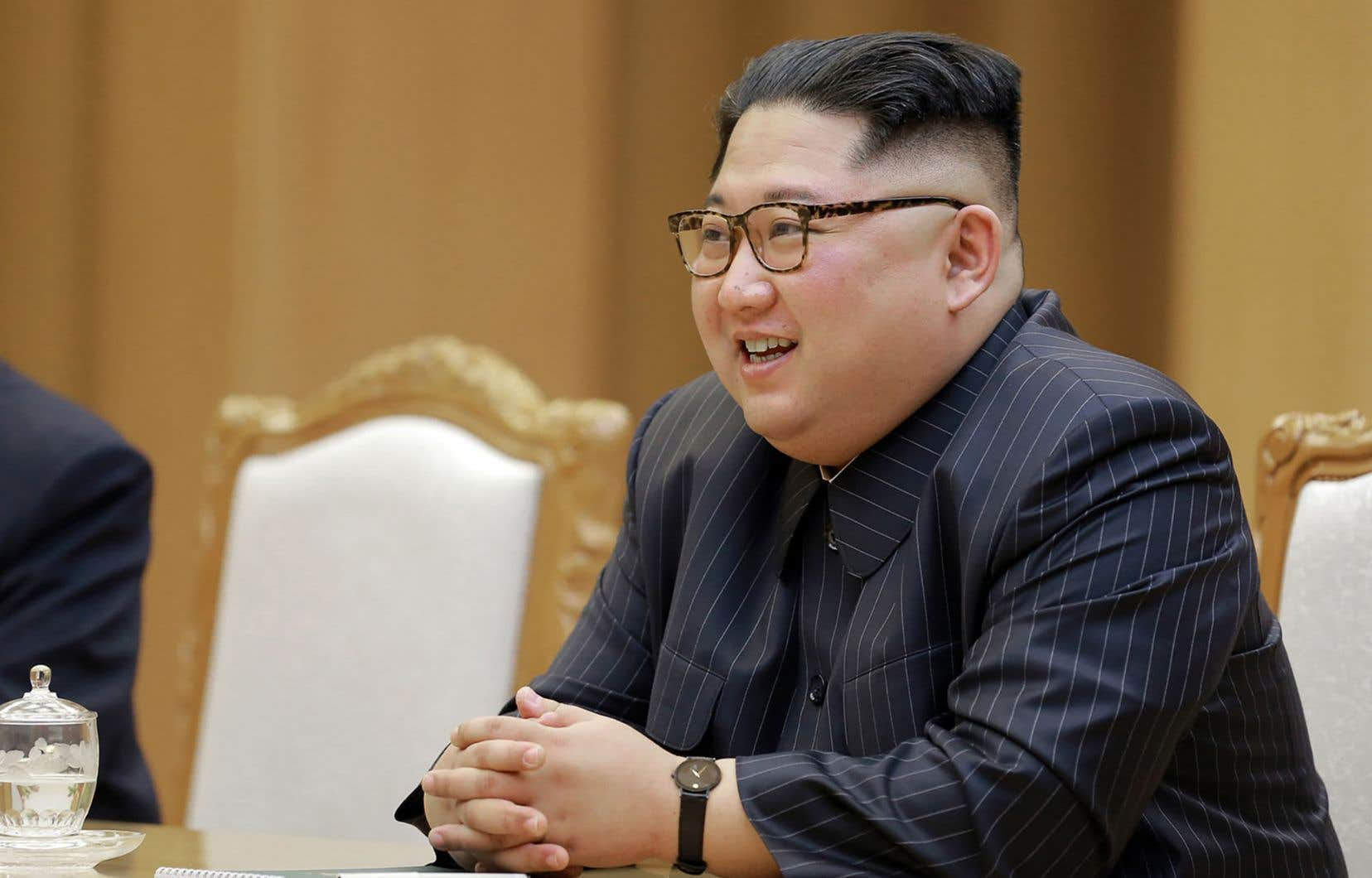 Le dirigeant de la Corée du Nord, Kim Jong-un